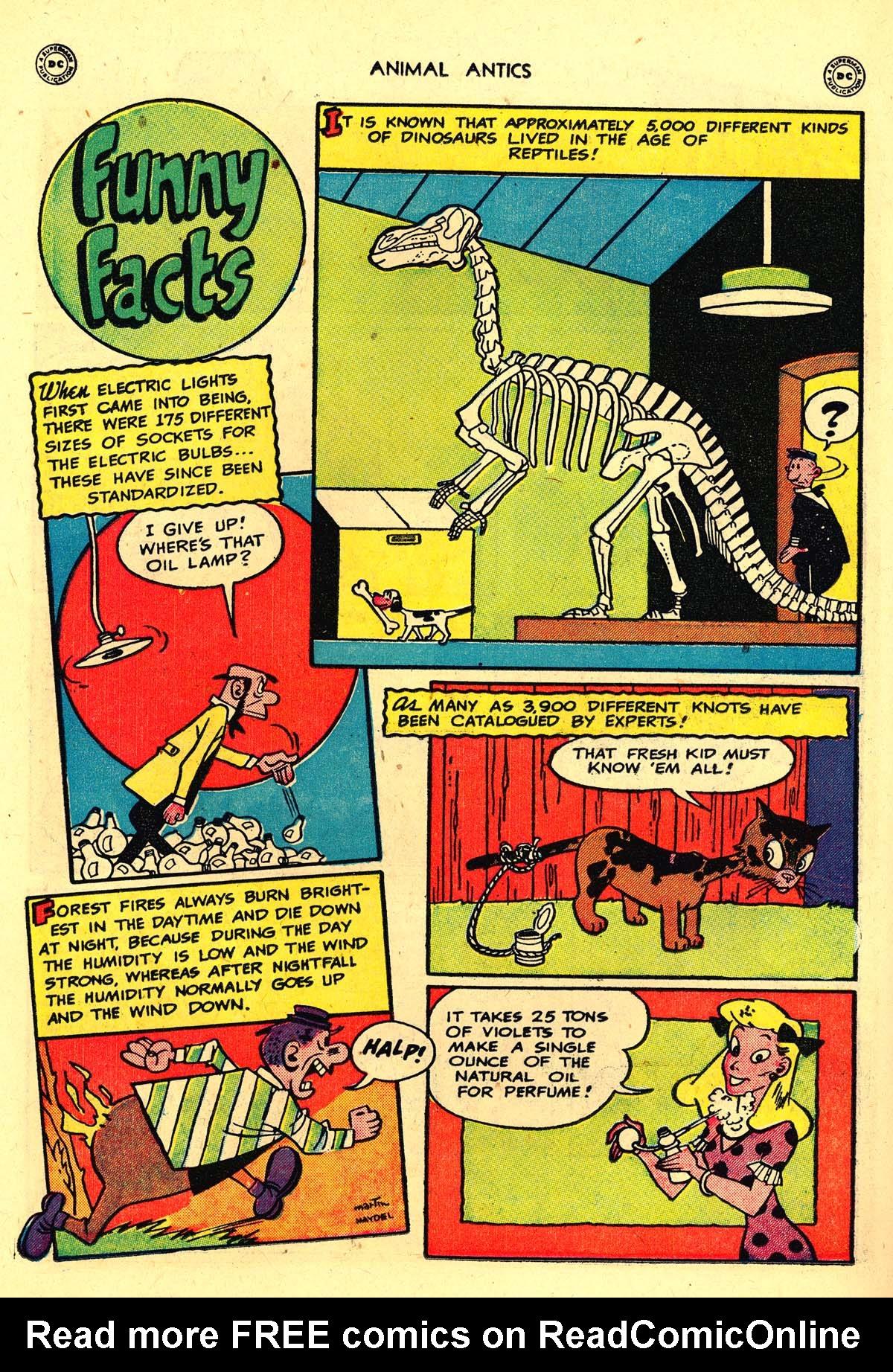 Read online Animal Antics comic -  Issue #18 - 32