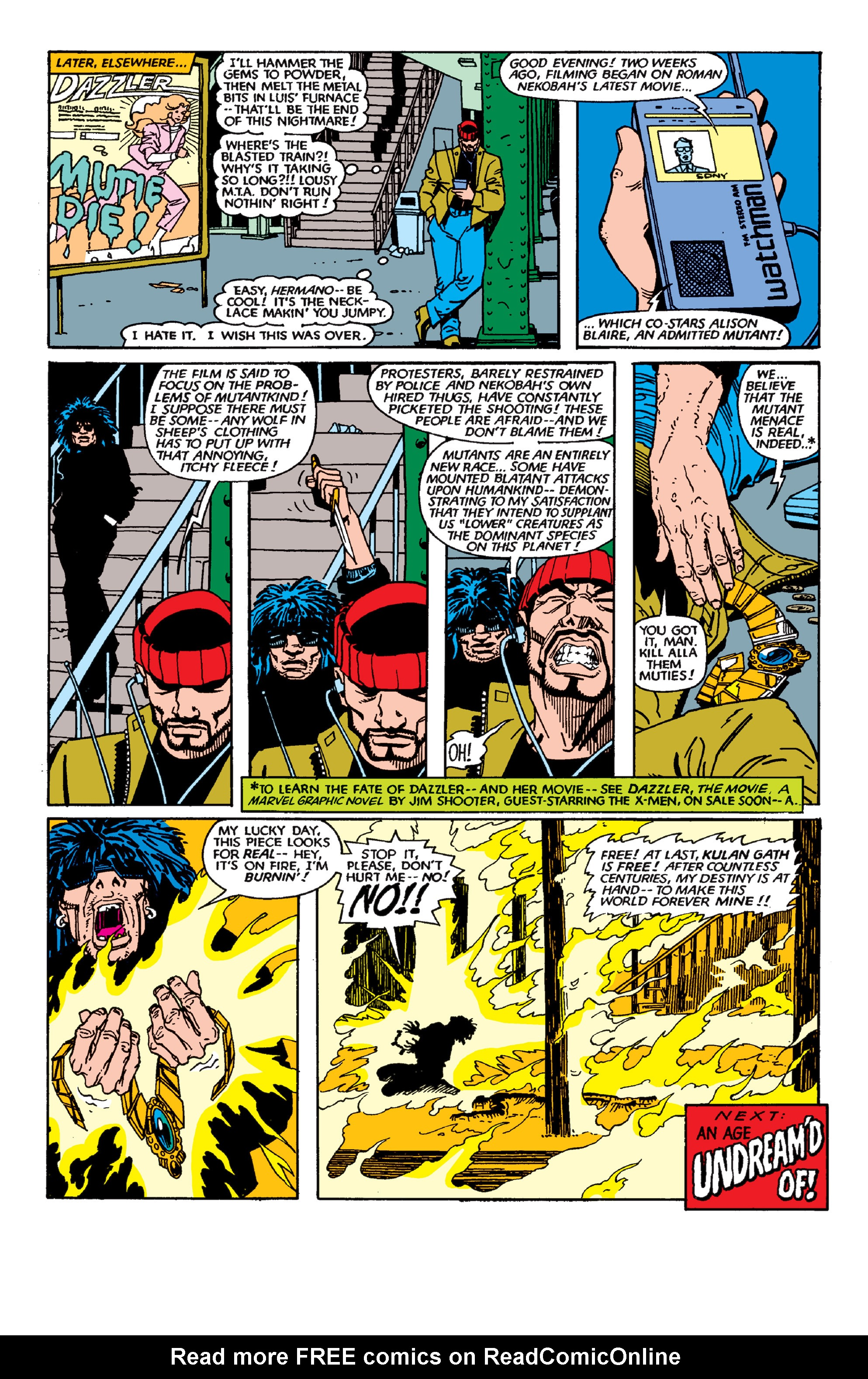 Read online Uncanny X-Men (1963) comic -  Issue #189 - 22