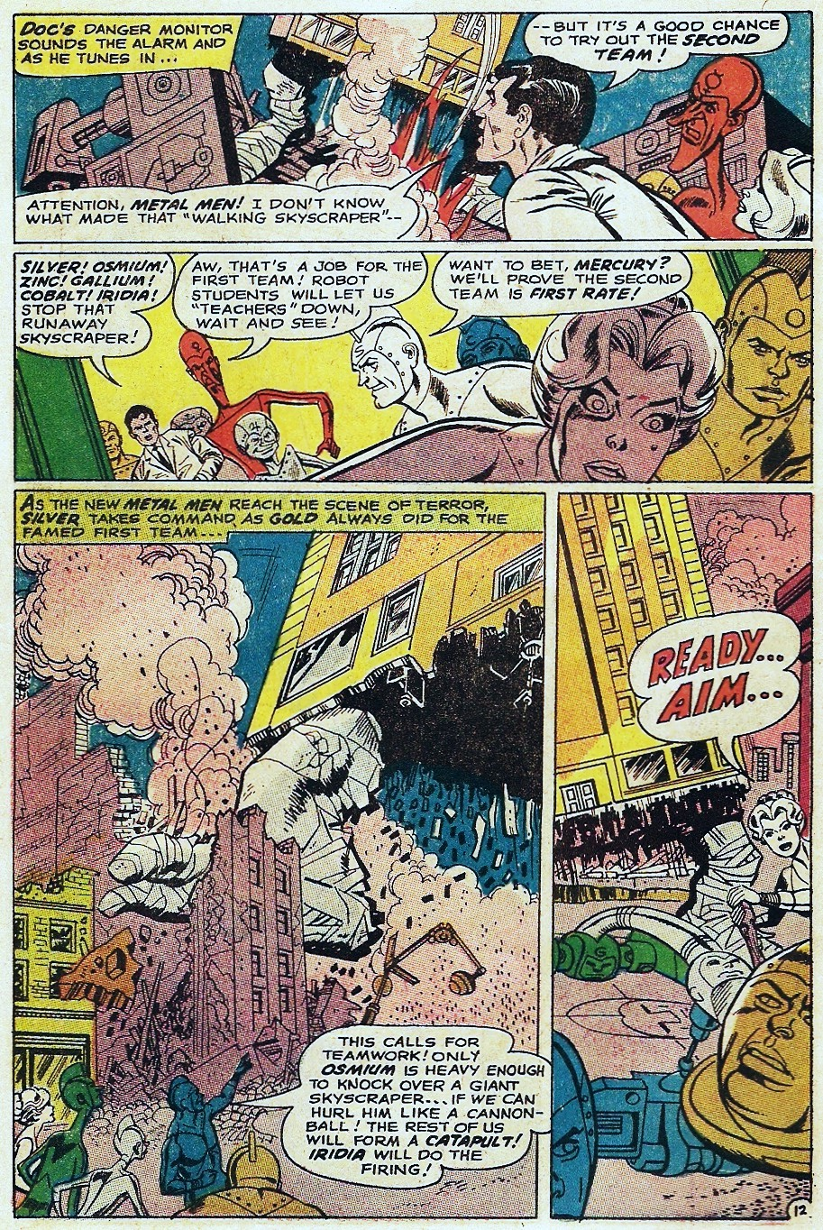 Metal Men (1963) issue 31 - Page 18