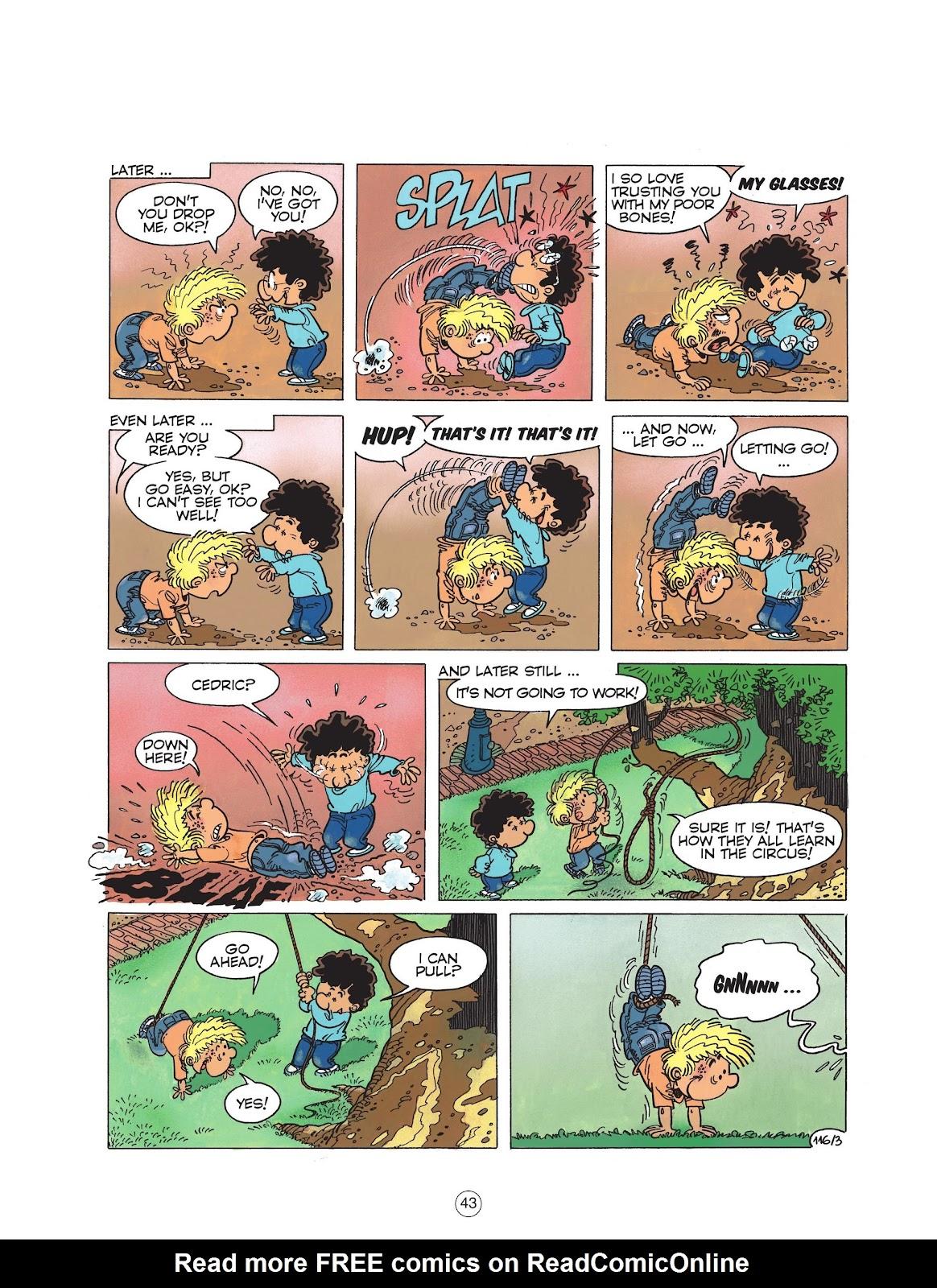 Read online Cedric comic -  Issue #6 - 45