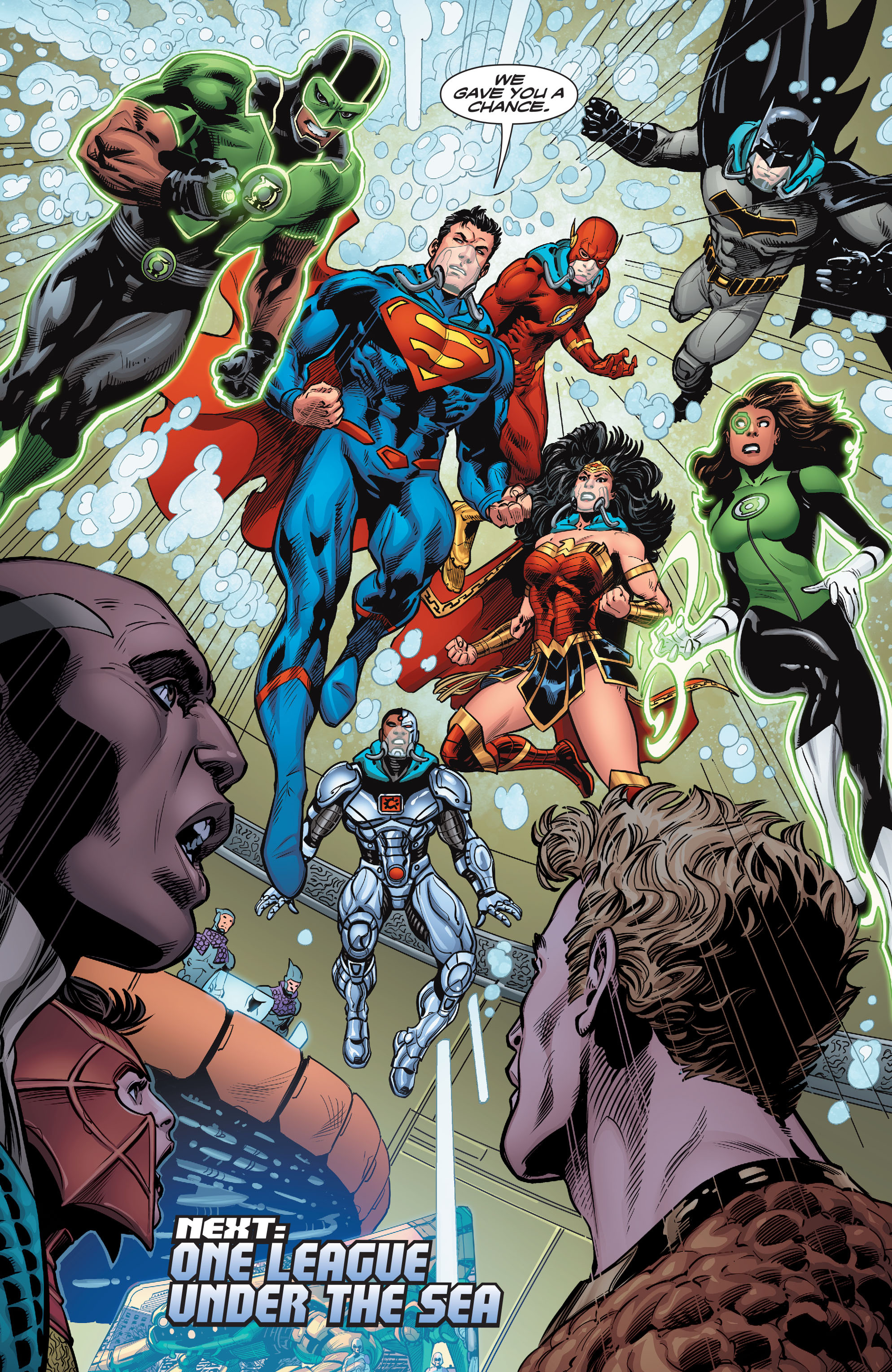 Read online Aquaman (2016) comic -  Issue #12 - 23