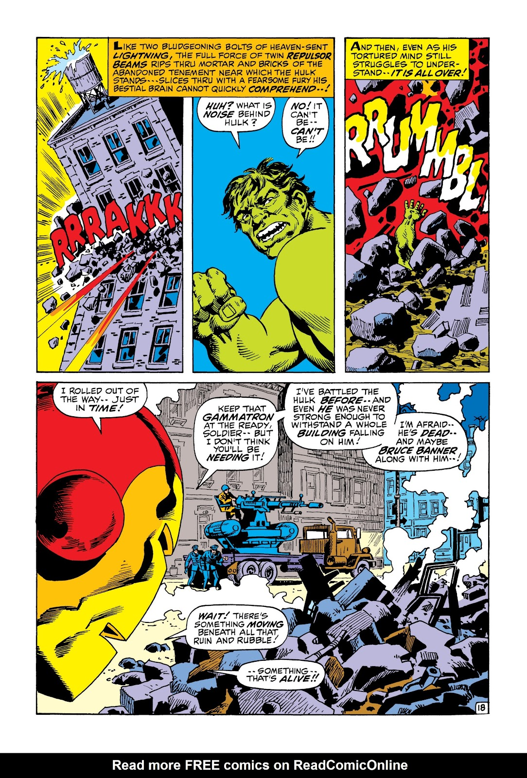 Read online Marvel Masterworks: The Incredible Hulk comic -  Issue # TPB 6 (Part 3) - 11