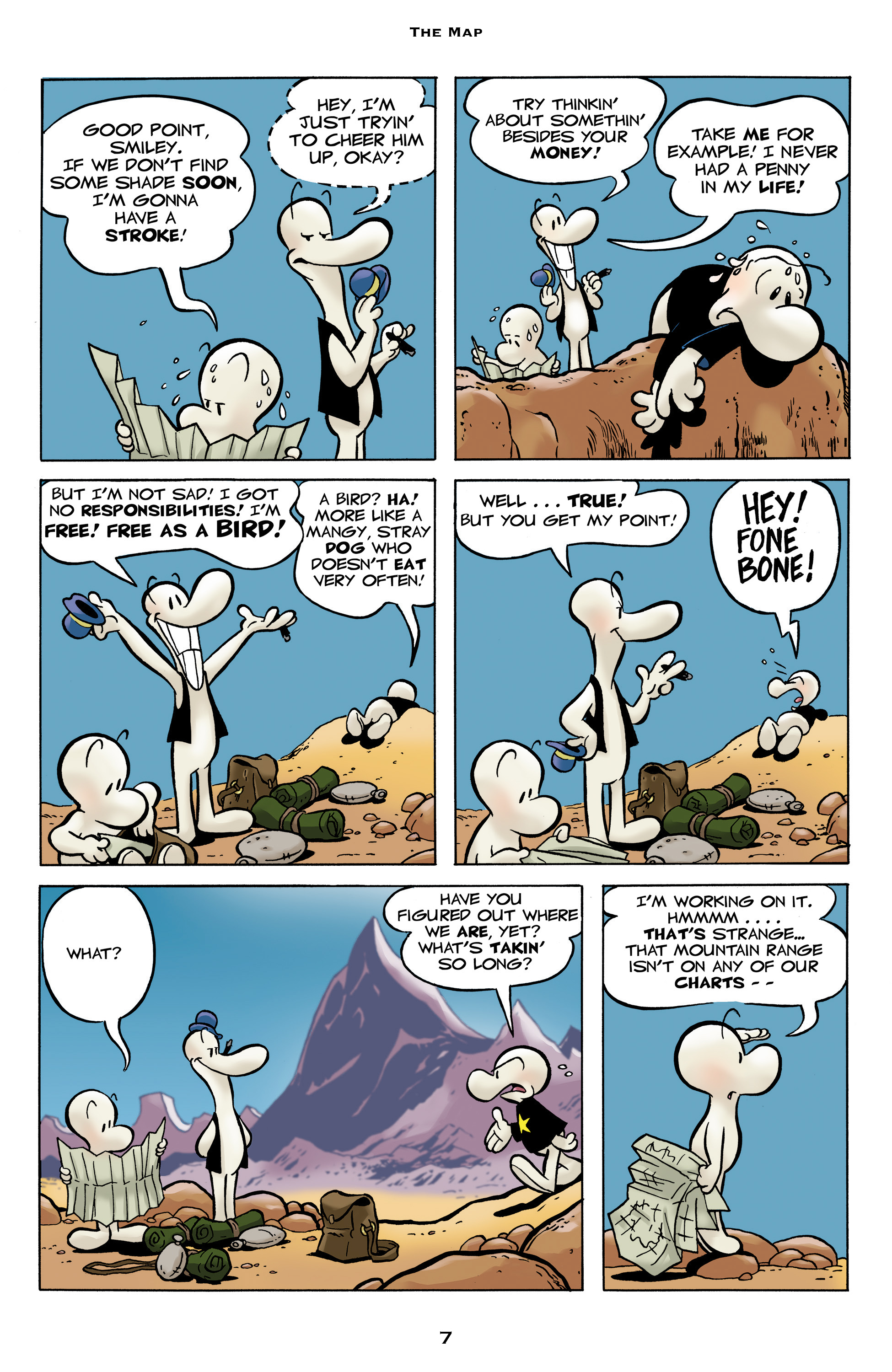 Read online Bone: Out From Boneville comic -  Issue # TPB - 7