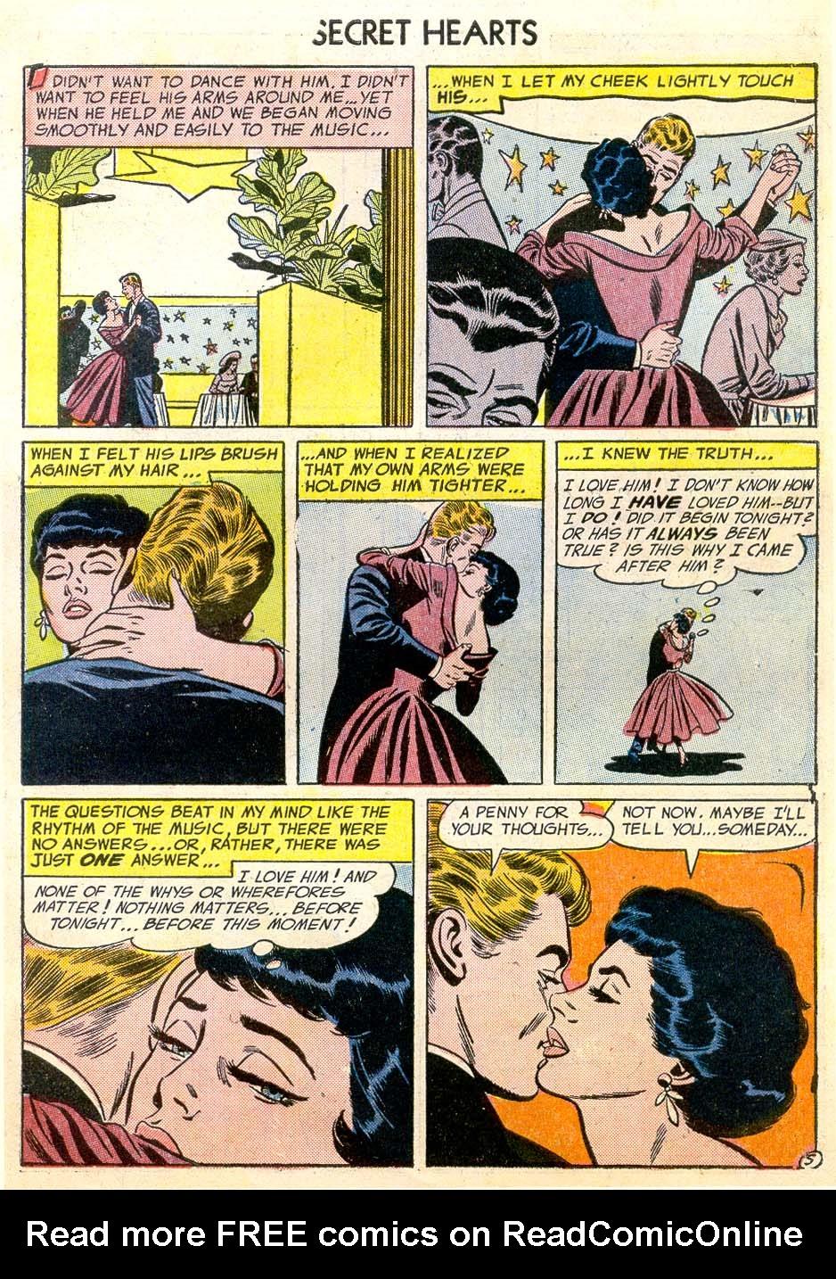 Read online Secret Hearts comic -  Issue #26 - 7