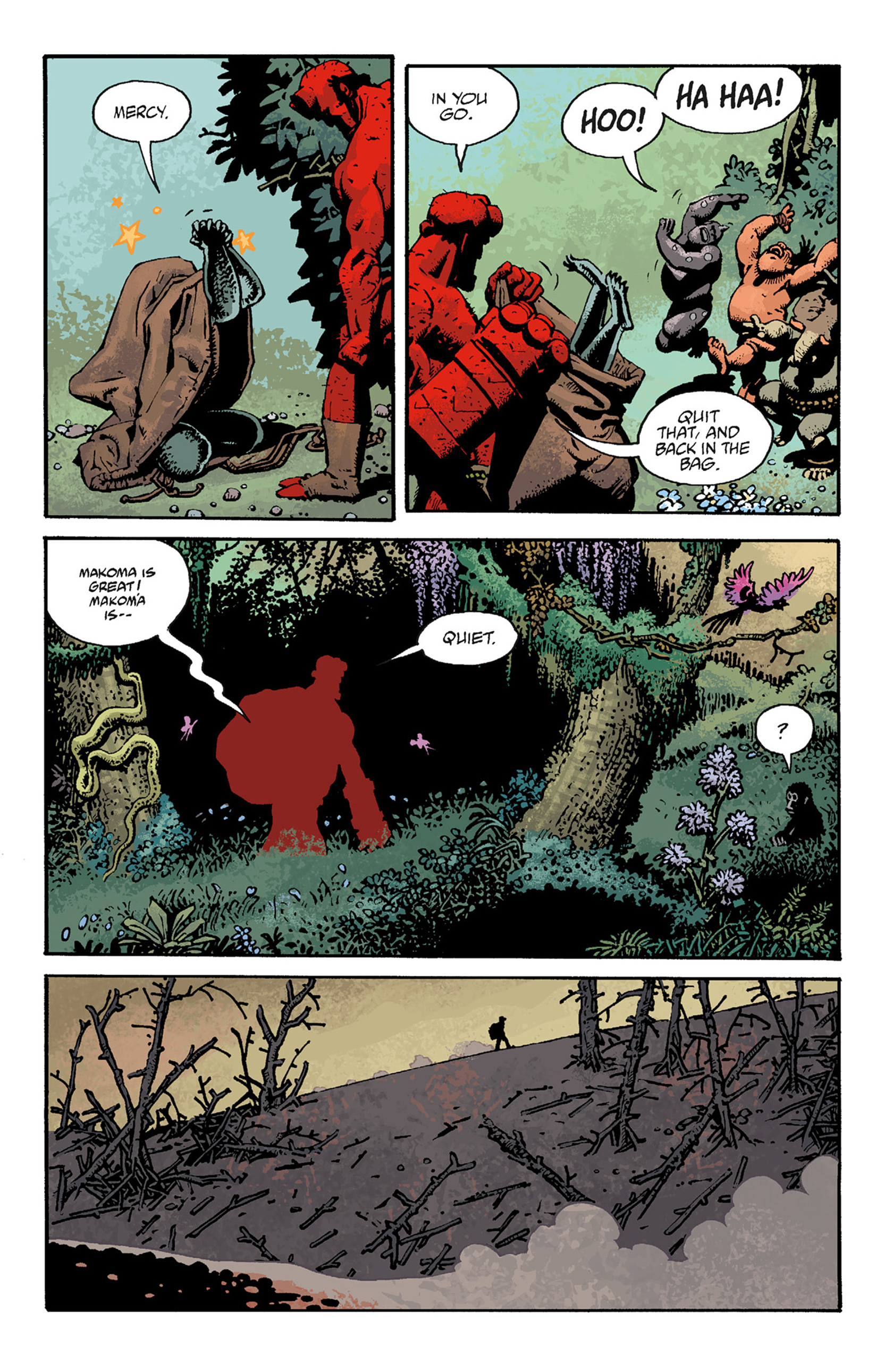 Read online Hellboy: The Troll Witch and Others comic -  Issue # TPB - 101