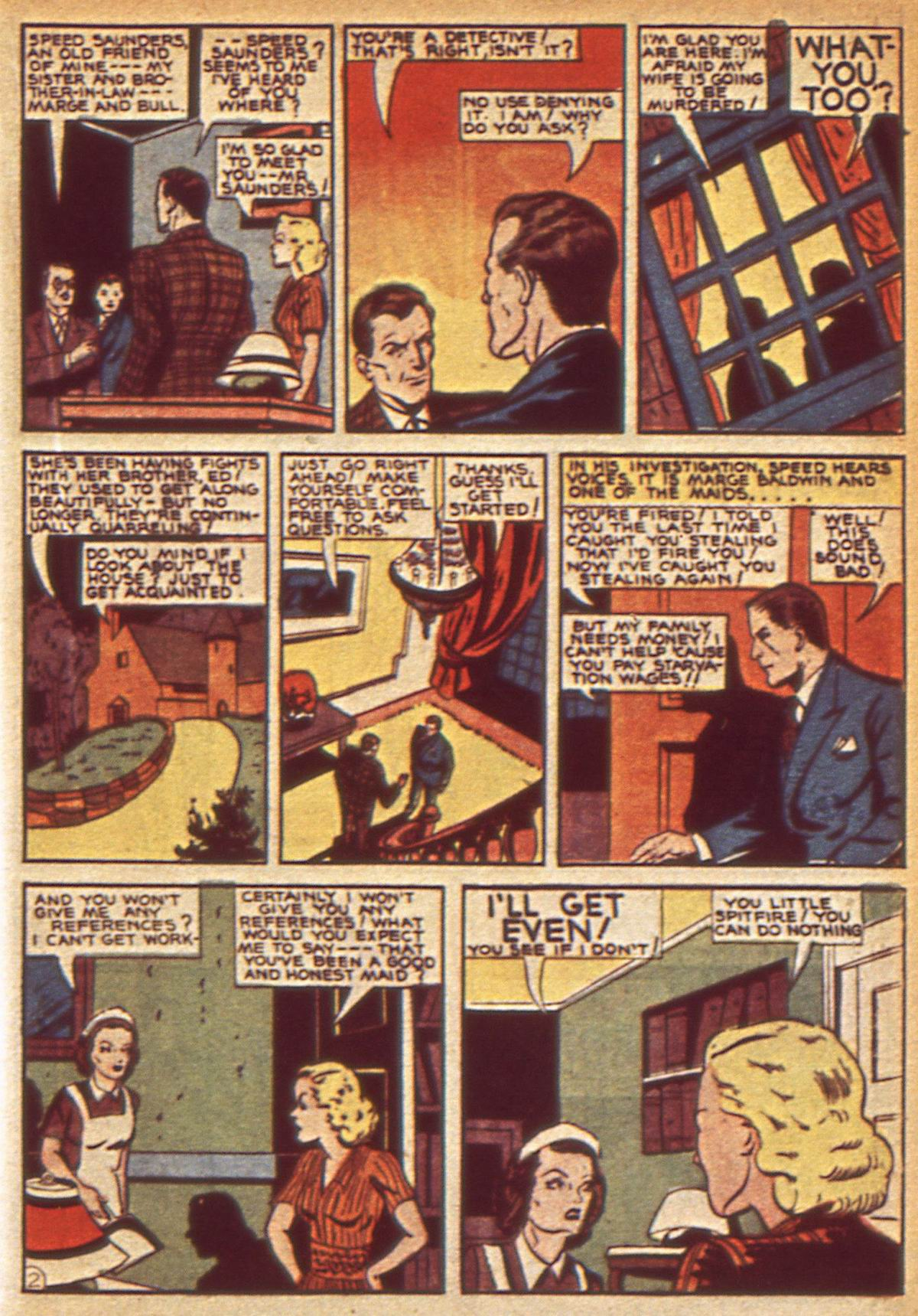 Read online Detective Comics (1937) comic -  Issue #49 - 39