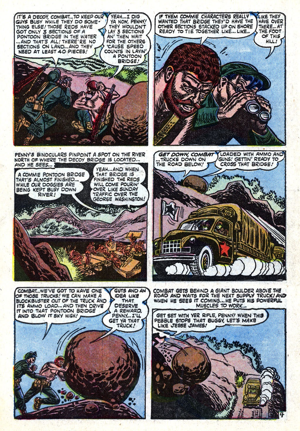 Combat (1952) issue 11 - Page 6