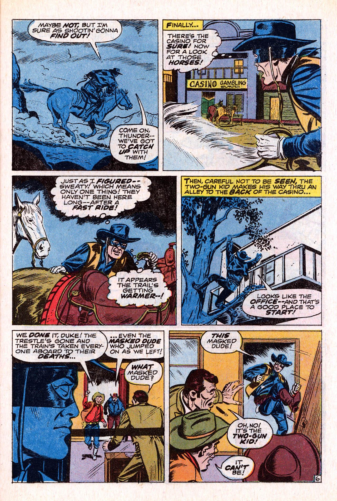 Read online Two-Gun Kid comic -  Issue #98 - 23