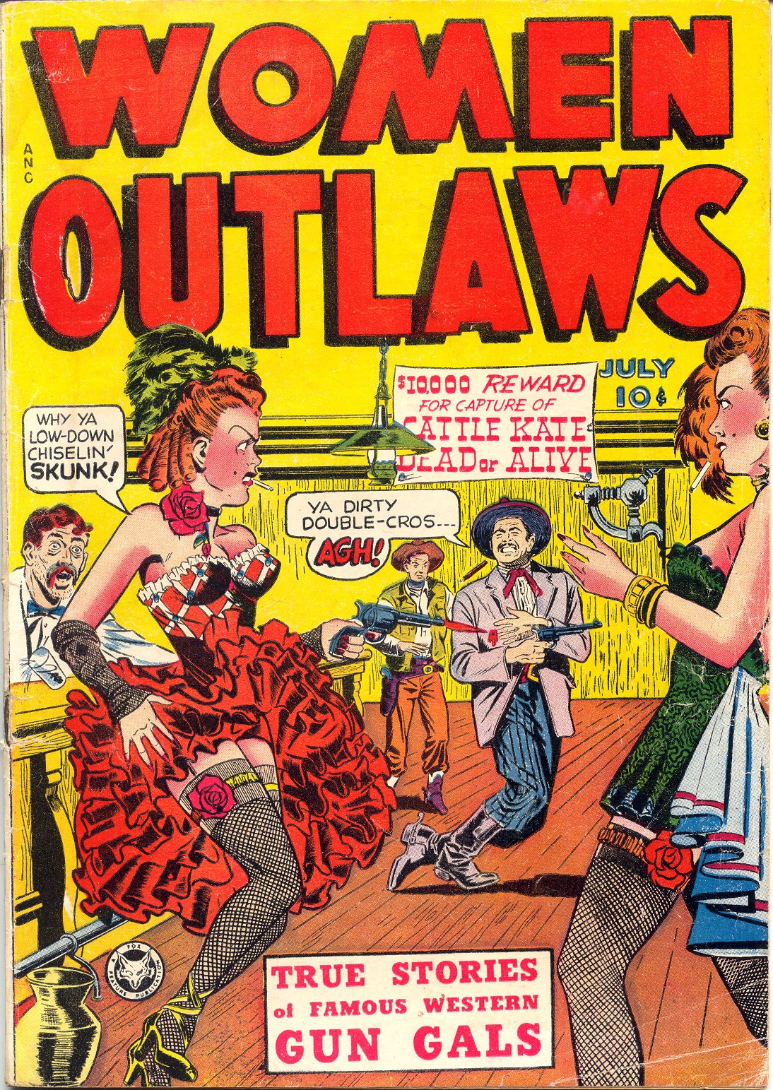 Read online Women Outlaws comic -  Issue #1 - 1