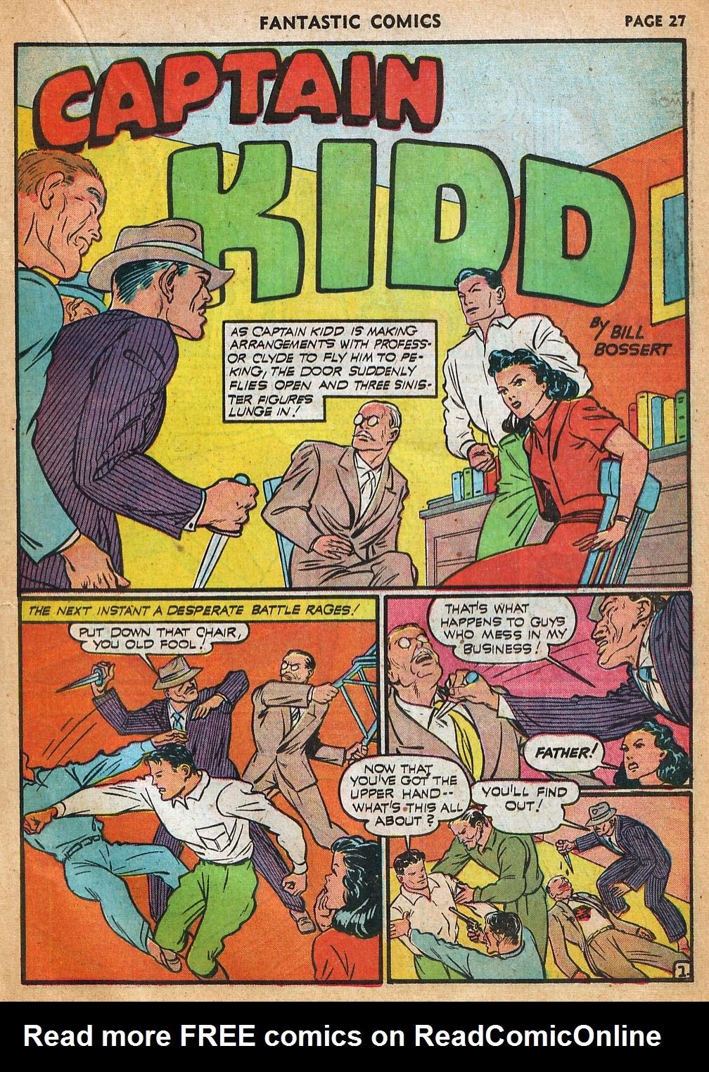 Read online Fantastic Comics comic -  Issue #22 - 29