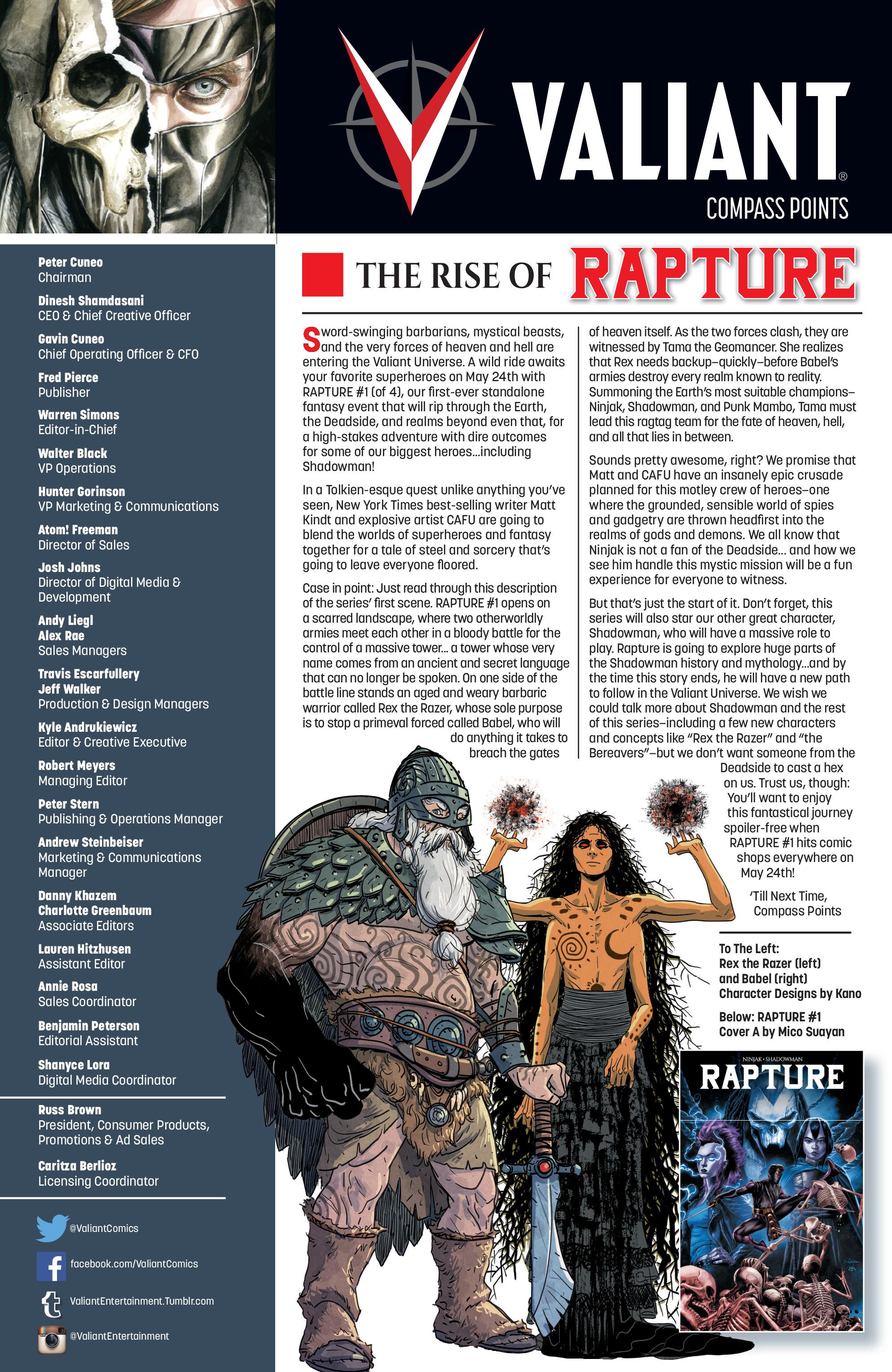 Read online Ninjak (2015) comic -  Issue #27 - 33