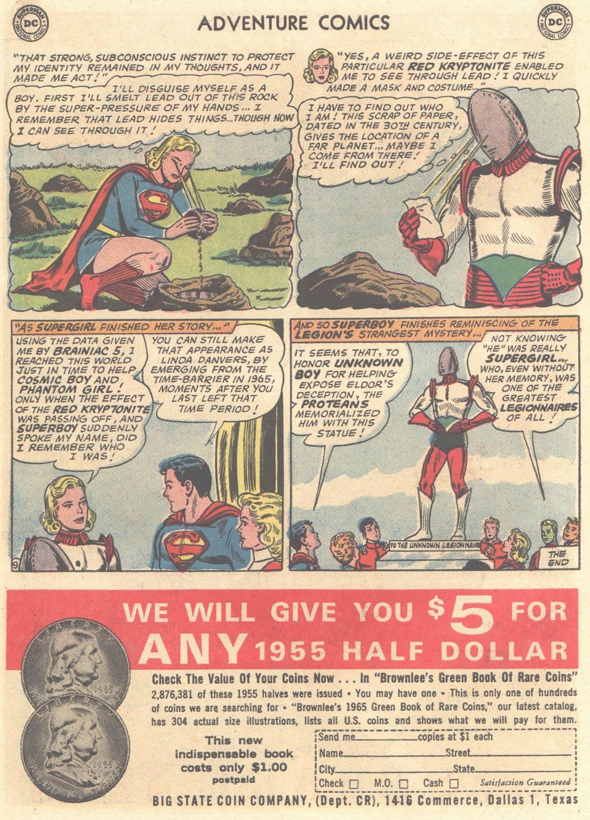 Read online Adventure Comics (1938) comic -  Issue #334 - 22