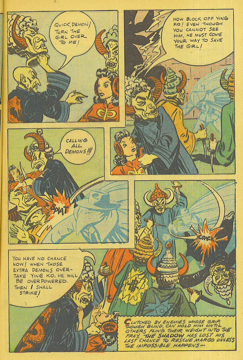 Read online Shadow Comics comic -  Issue #71 - 5