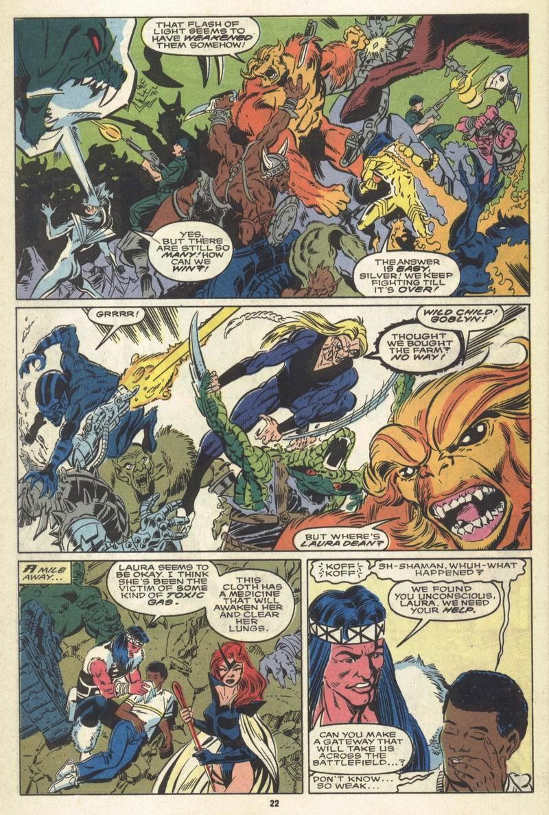 Read online Alpha Flight (1983) comic -  Issue #86 - 18