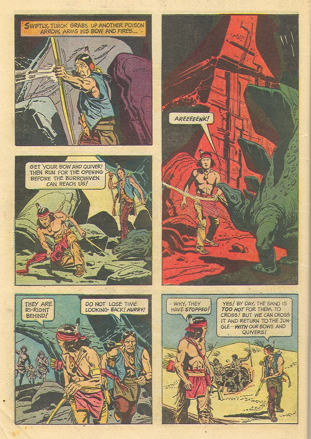 Read online Turok, Son of Stone comic -  Issue #35 - 34