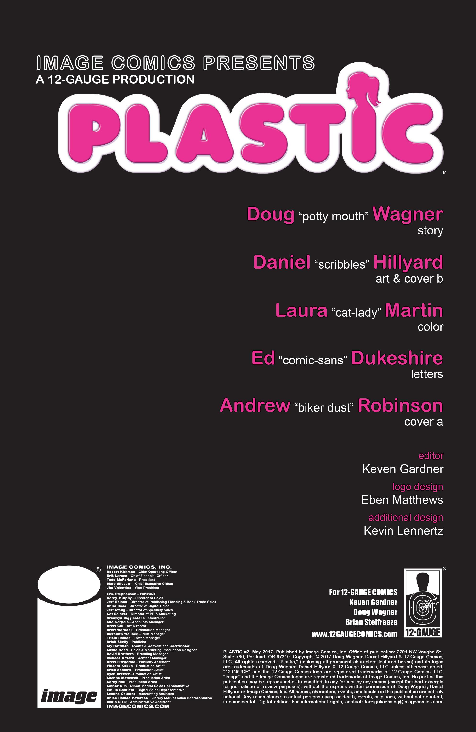 Read online Plastic comic -  Issue #2 - 2