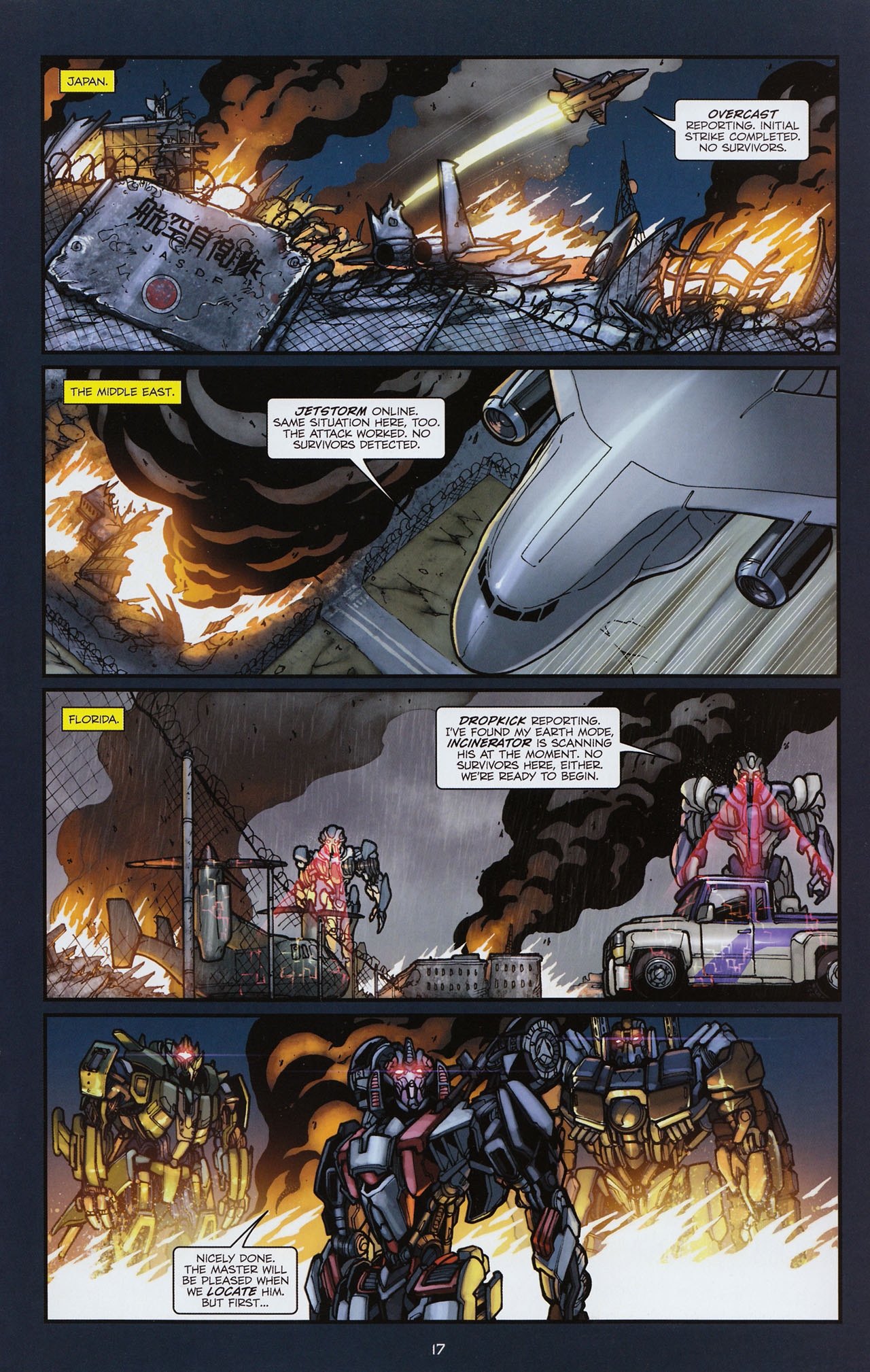 Read online Transformers: Alliance comic -  Issue #3 - 18