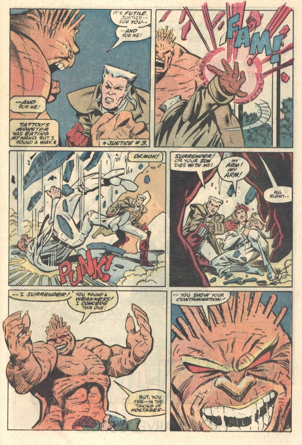 Read online Justice (1986) comic -  Issue #5 - 21