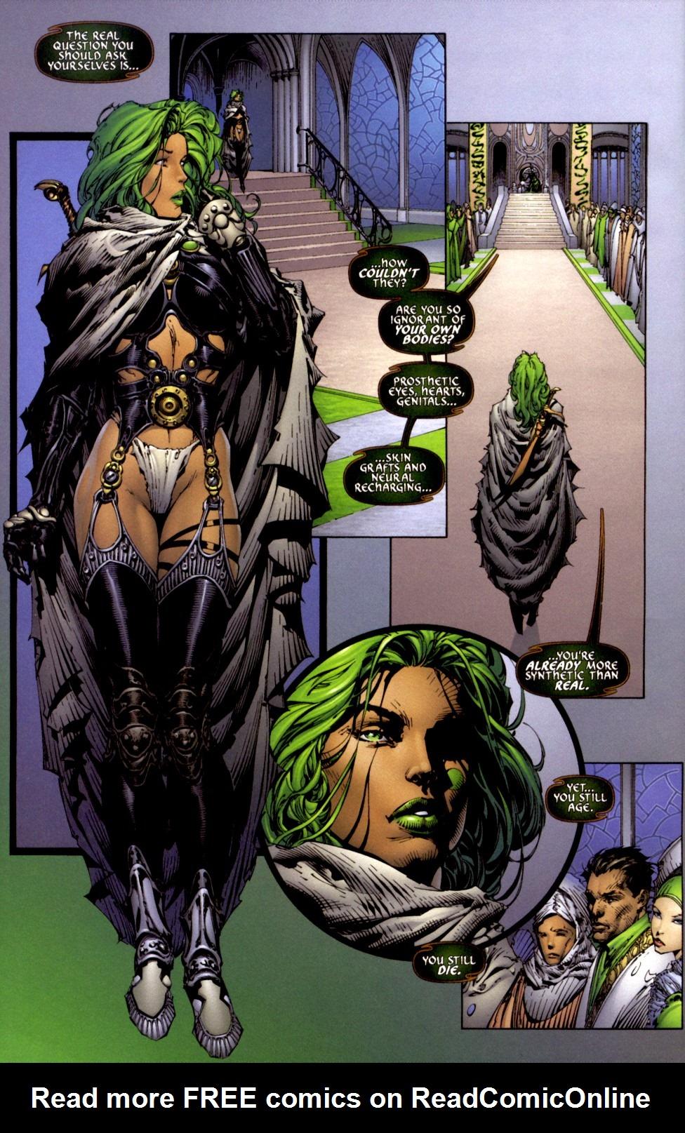 Read online Aphrodite IX (2000) comic -  Issue #2 - 5