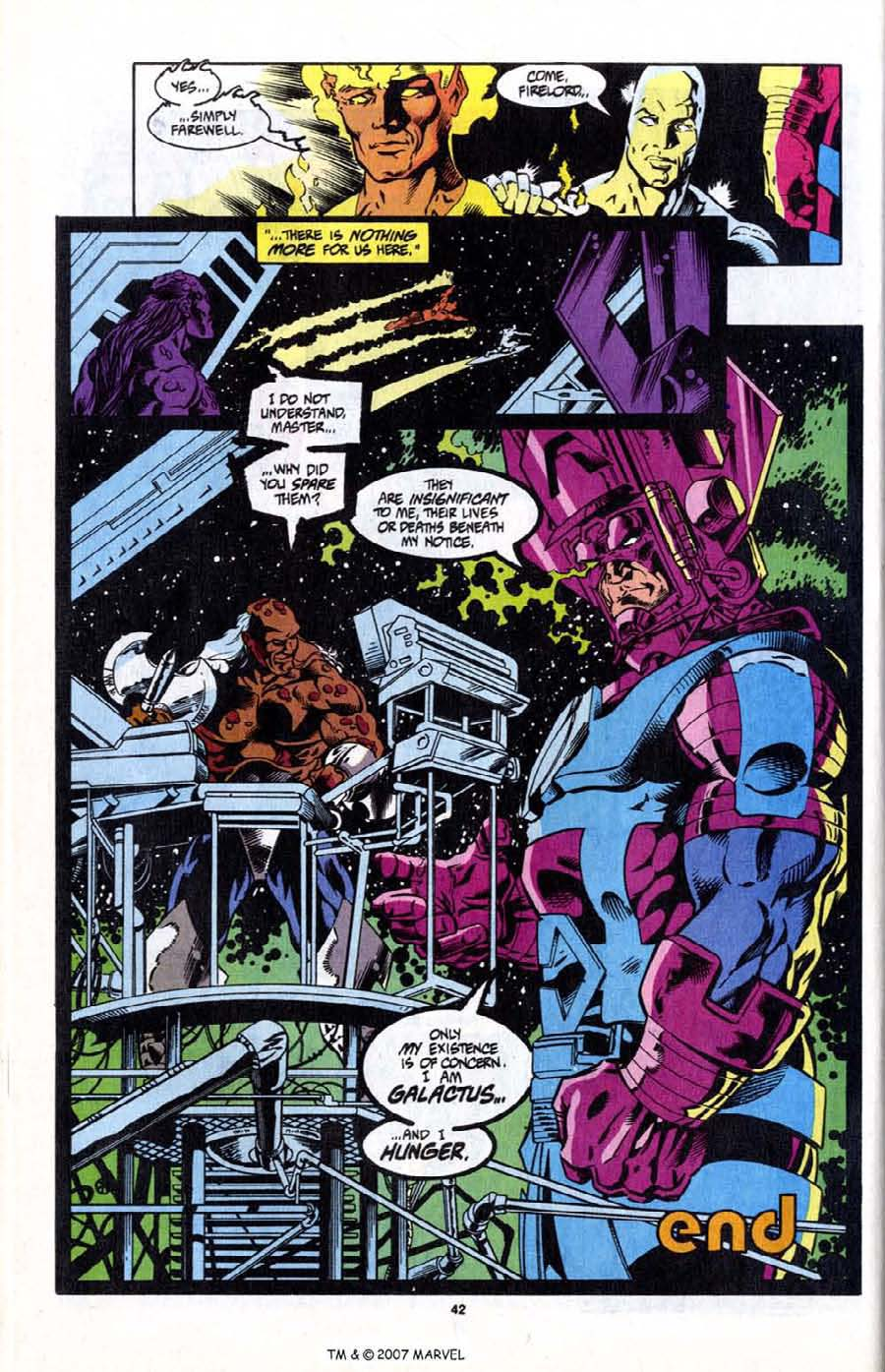 Read online Silver Surfer (1987) comic -  Issue # _Annual 7 - 44