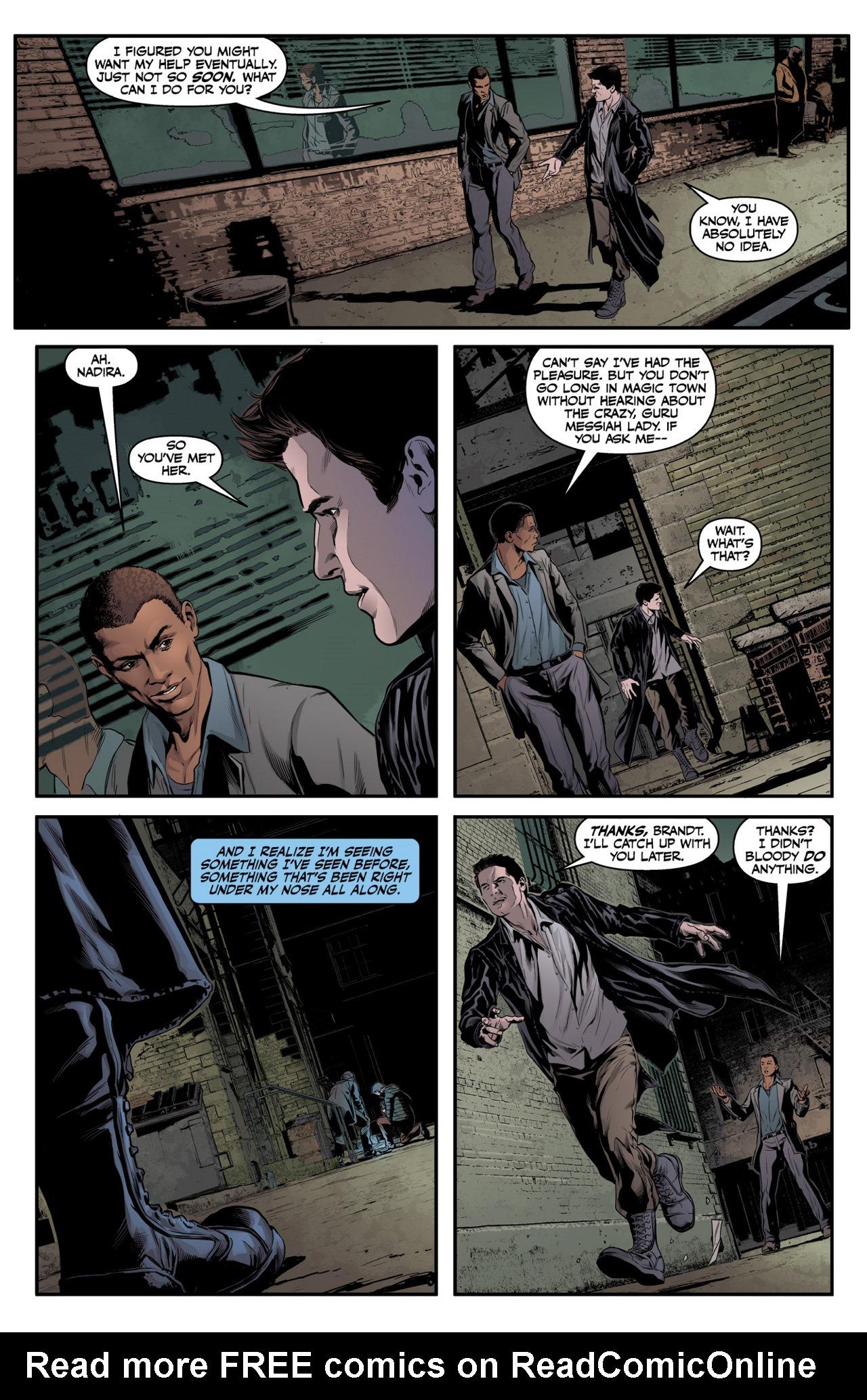 Read online Angel & Faith Season 10 comic -  Issue #3 - 21