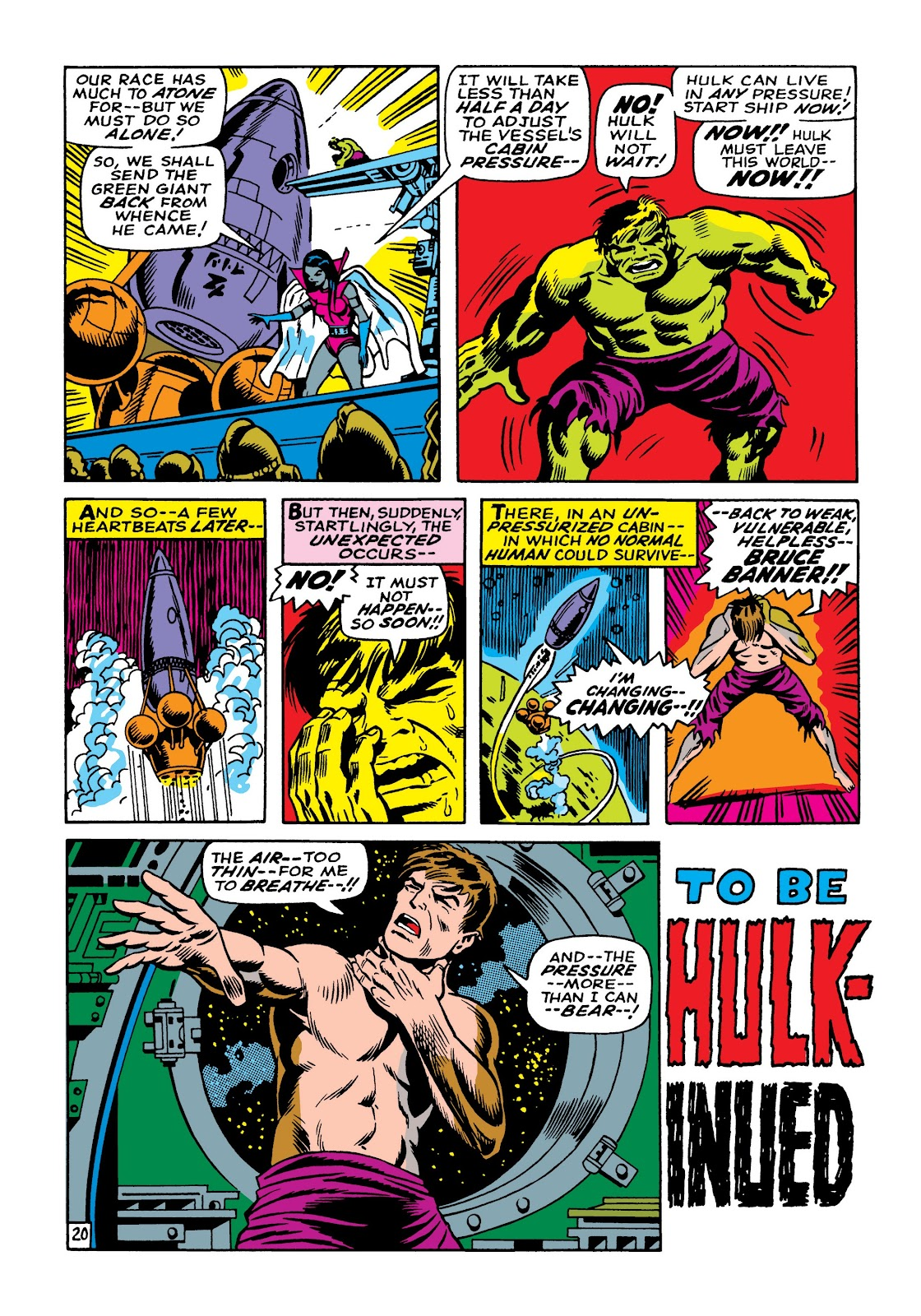 Read online Marvel Masterworks: The Incredible Hulk comic -  Issue # TPB 5 (Part 1) - 47