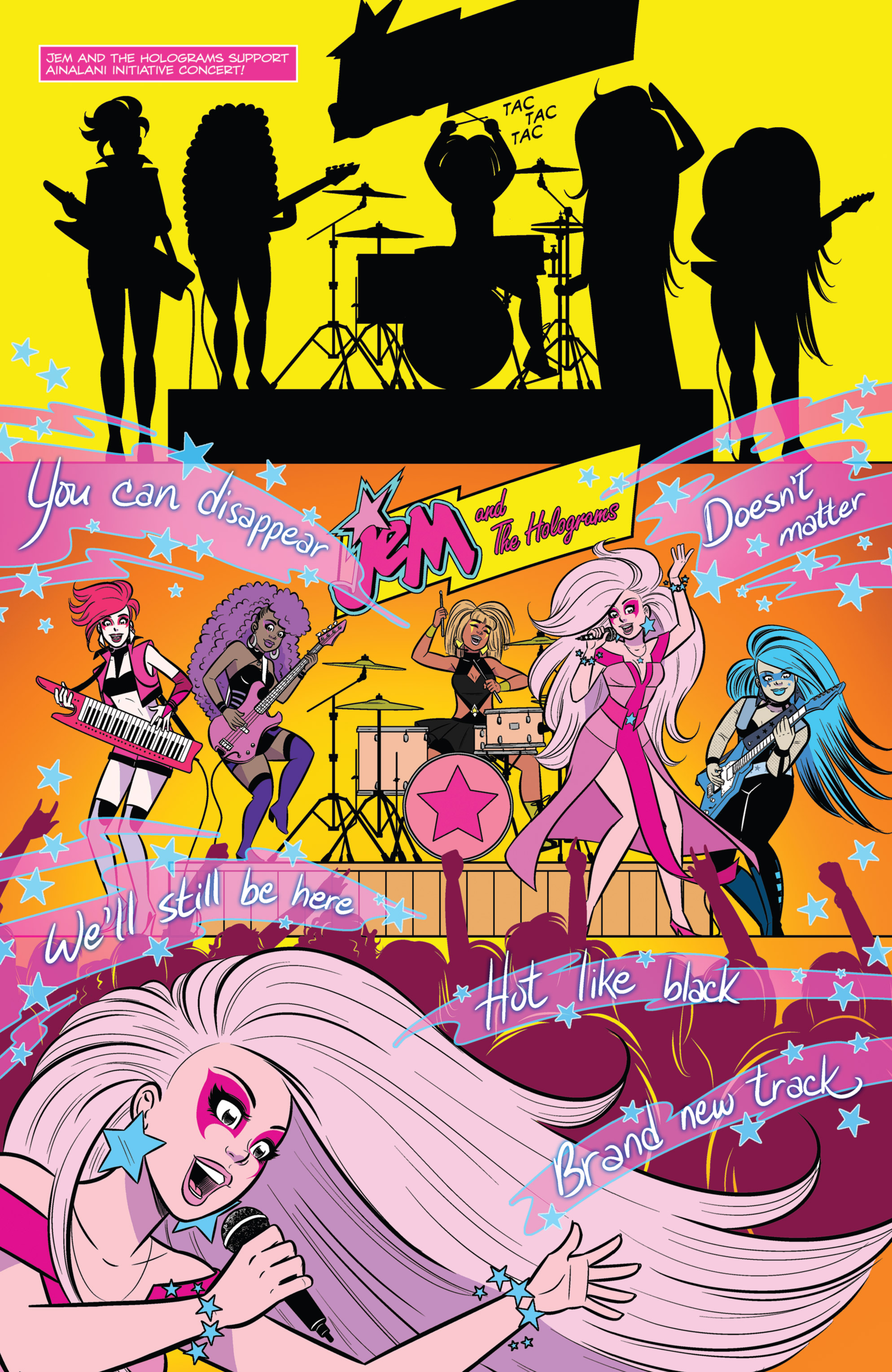 Read online Jem and The Holograms comic -  Issue #26 - 19
