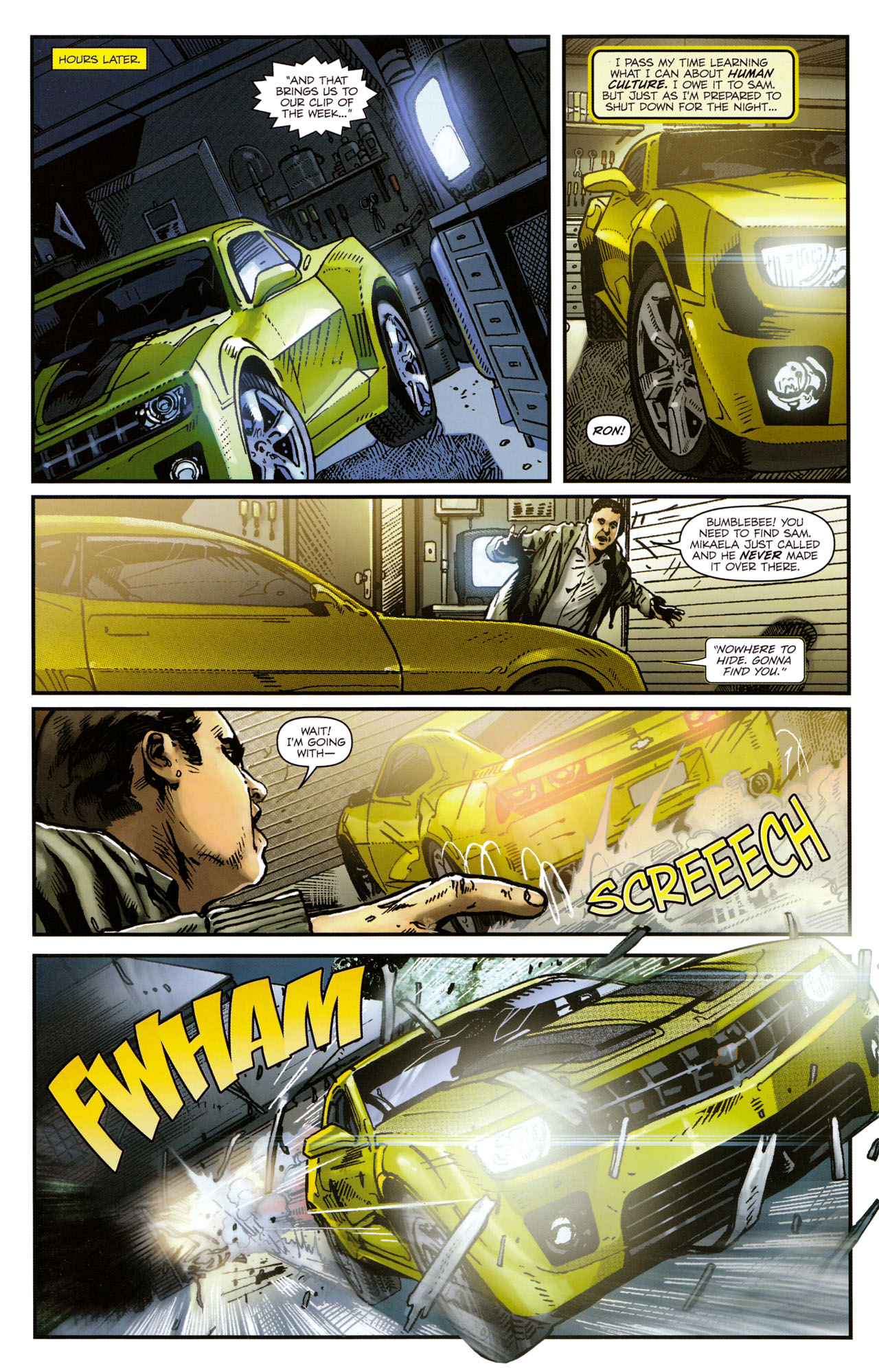Read online Transformers: Tales of The Fallen comic -  Issue #1 - 11