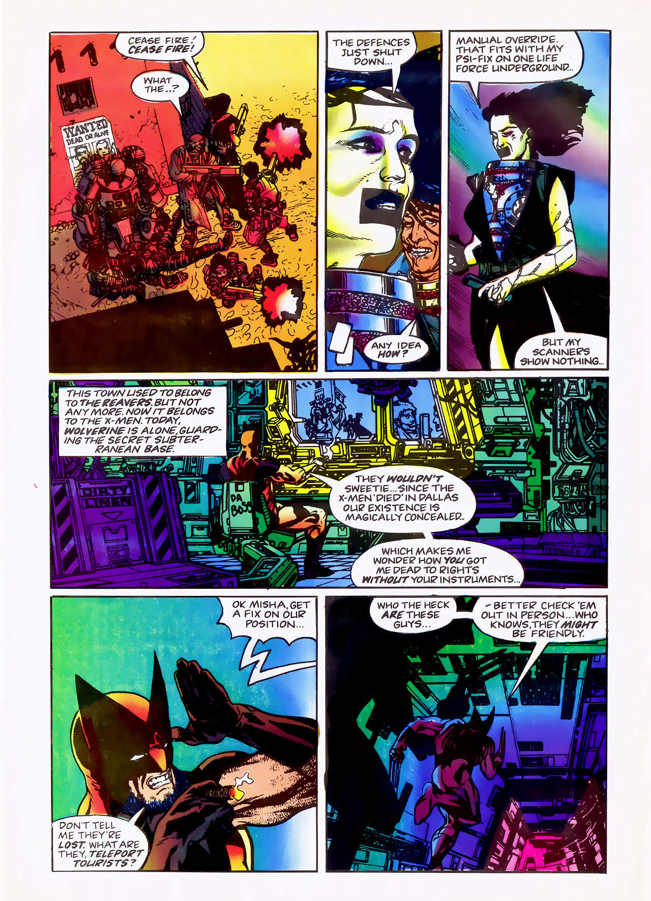 Read online Overkill comic -  Issue #15 - 32