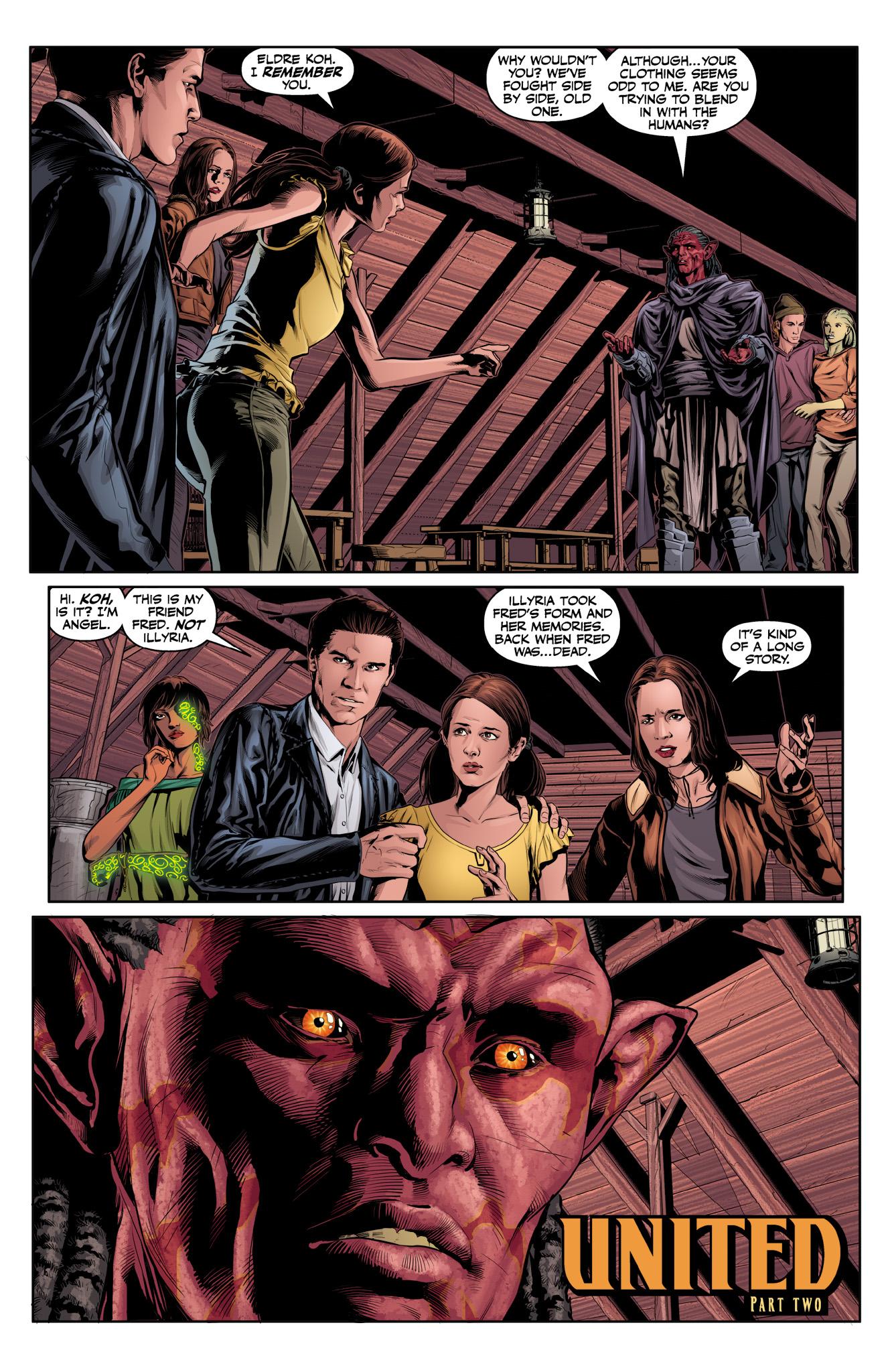 Read online Angel & Faith Season 10 comic -  Issue #12 - 3
