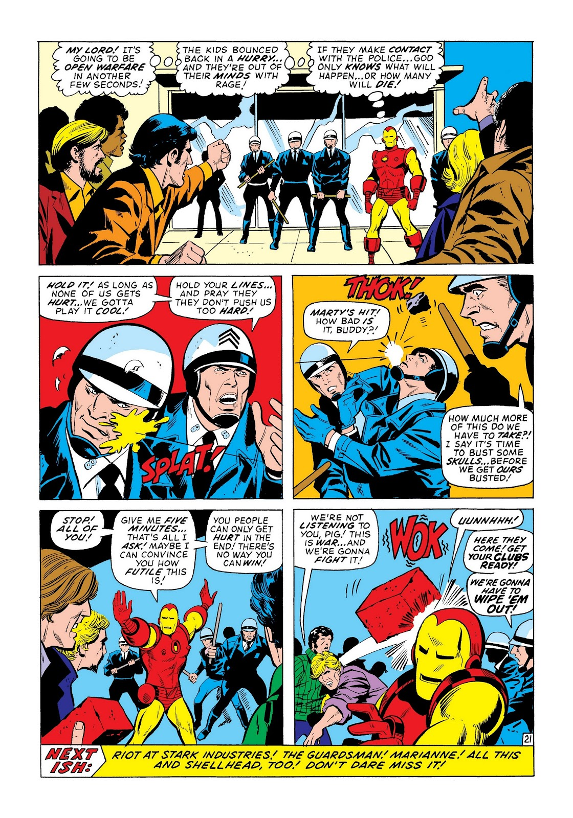 Read online Marvel Masterworks: The Invincible Iron Man comic -  Issue # TPB 8 (Part 2) - 43