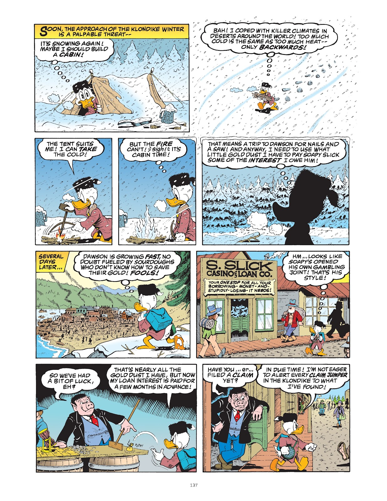 Read online The Complete Life and Times of Scrooge McDuck comic -  Issue # TPB 1 (Part 2) - 36