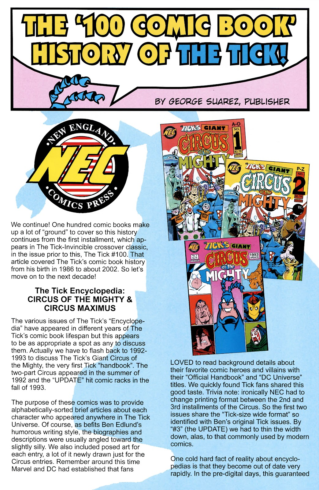 Read online The Tick comic -  Issue #101 - 29