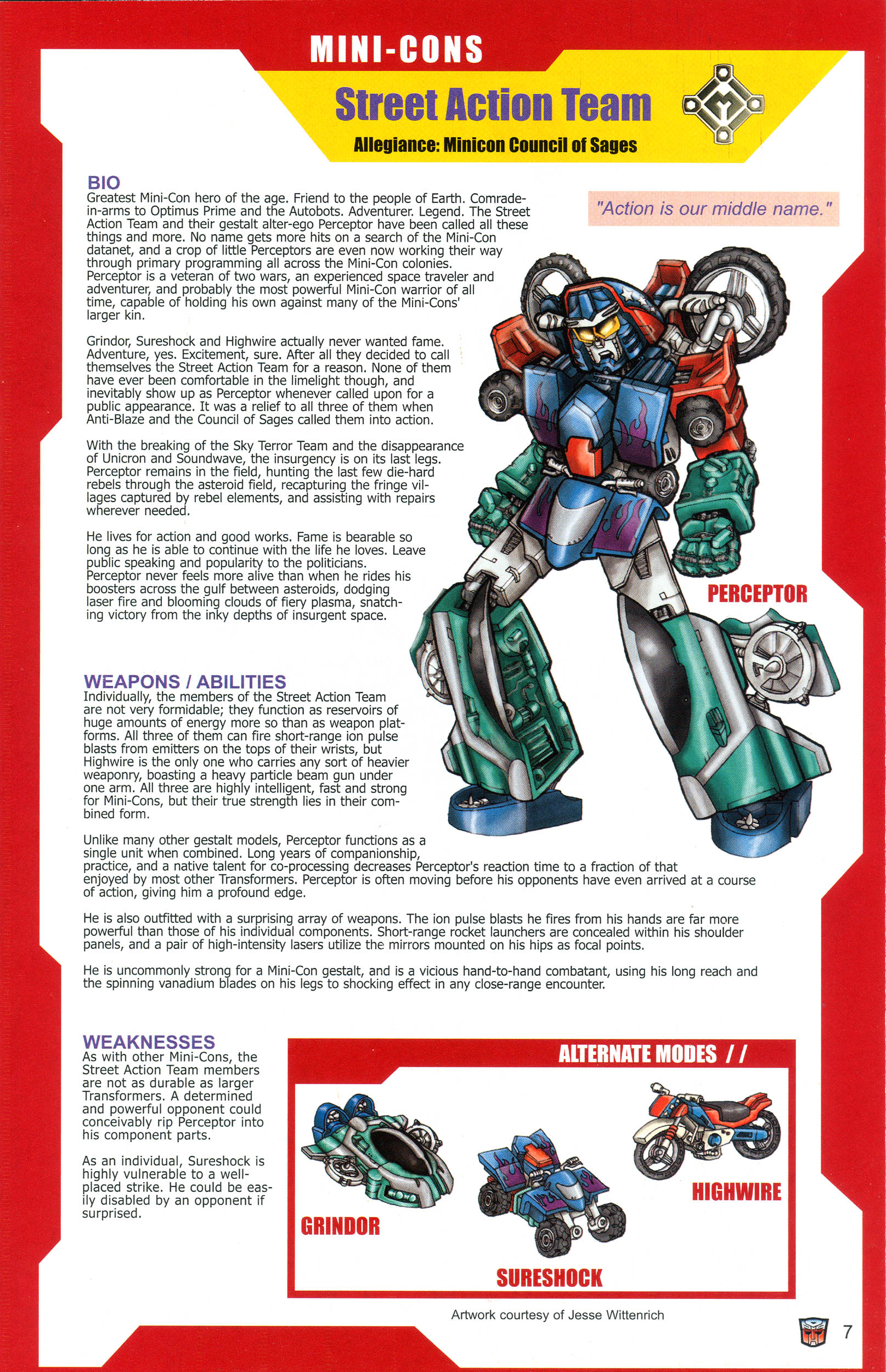 Read online Transformers: Collectors' Club comic -  Issue #12 - 7