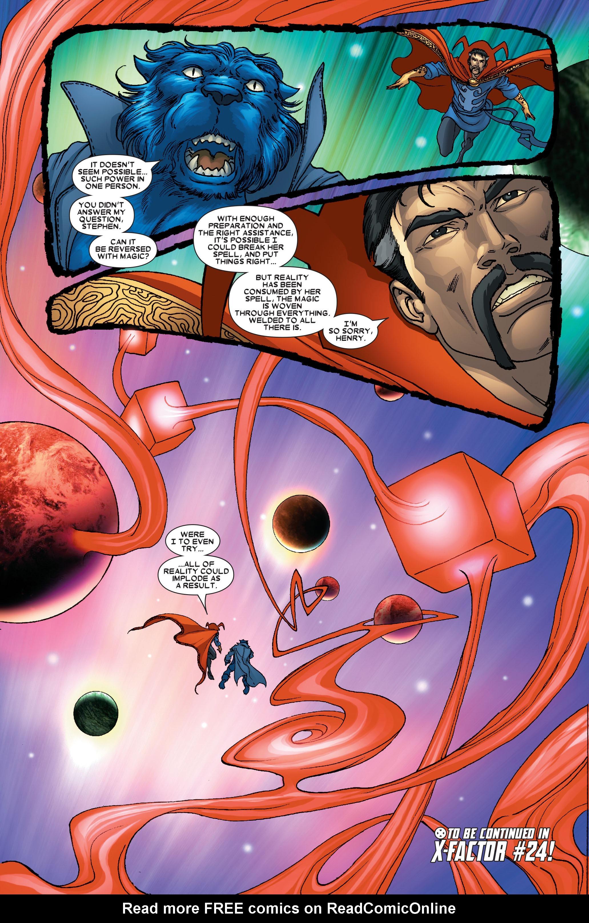 Read online Uncanny X-Men (1963) comic -  Issue #491 - 32