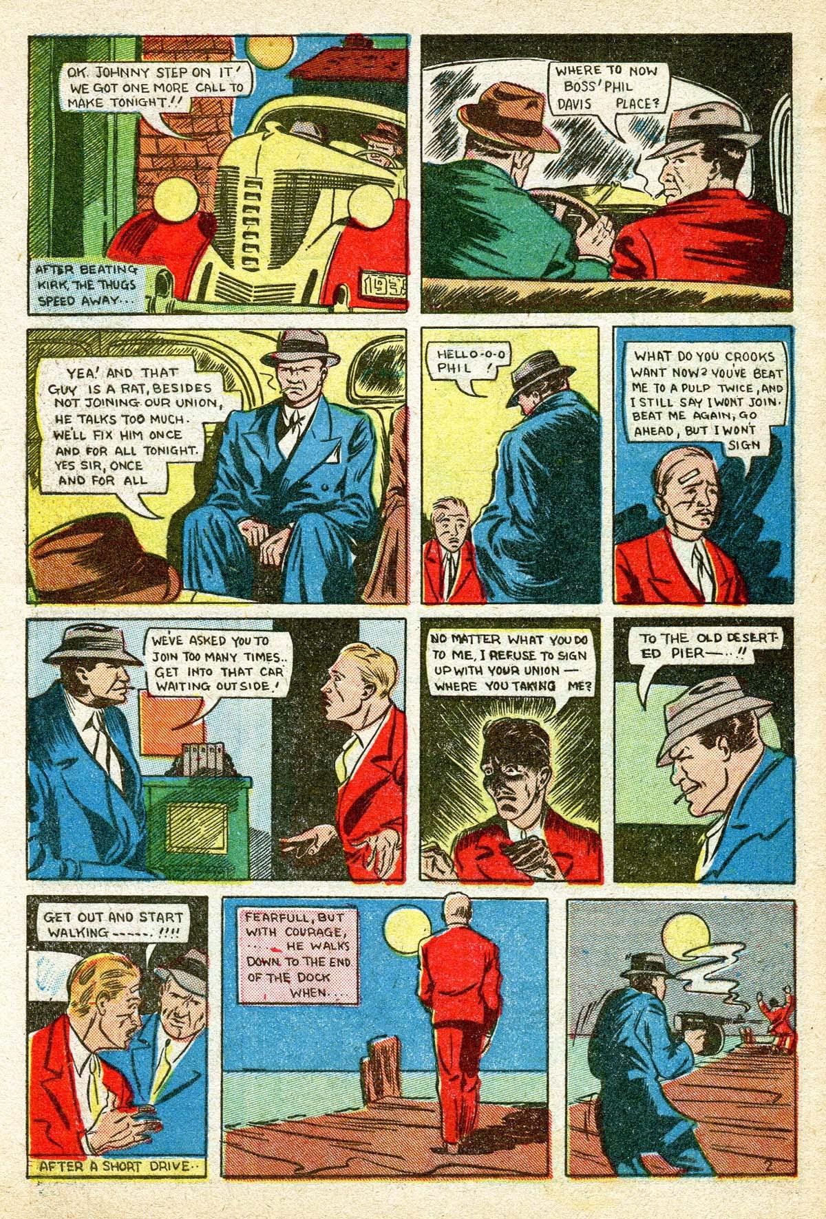 Read online Amazing Man Comics comic -  Issue #8 - 60