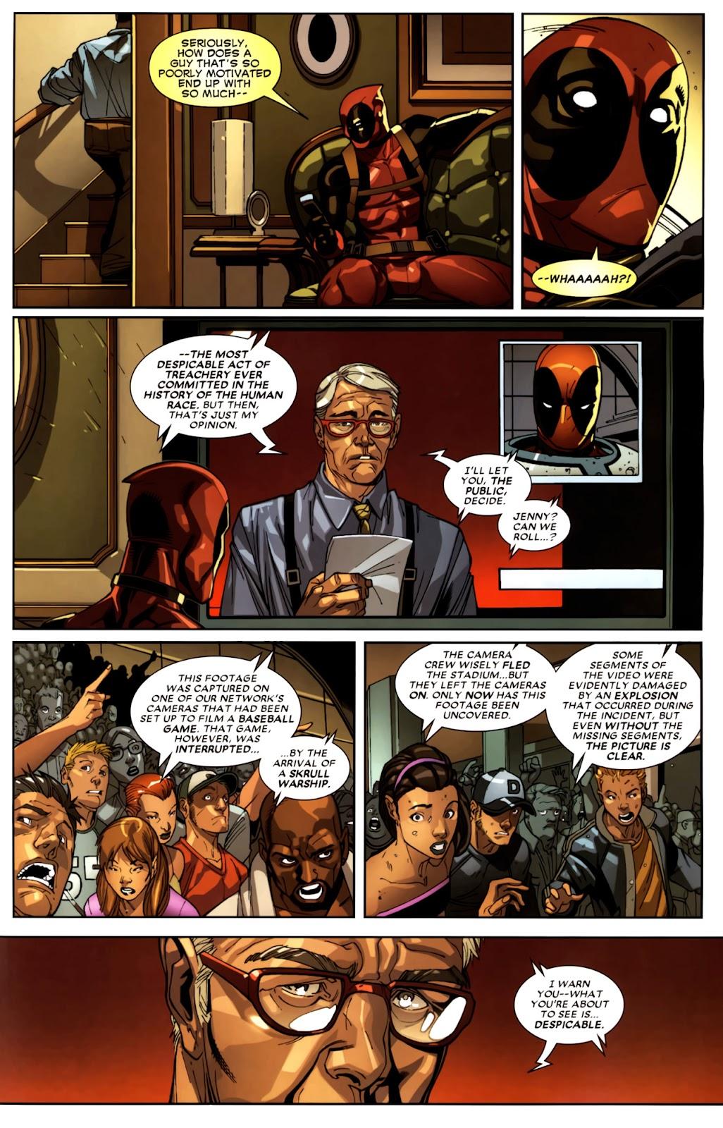 Read online Deadpool (2008) comic -  Issue #10 - 15