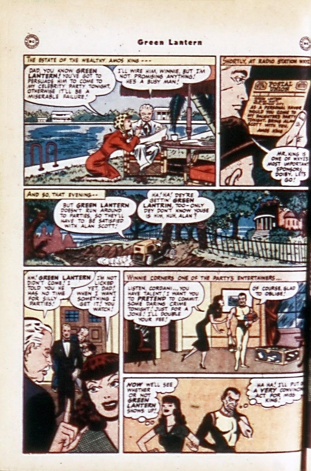 Green Lantern (1941) Issue #32 #32 - English 4