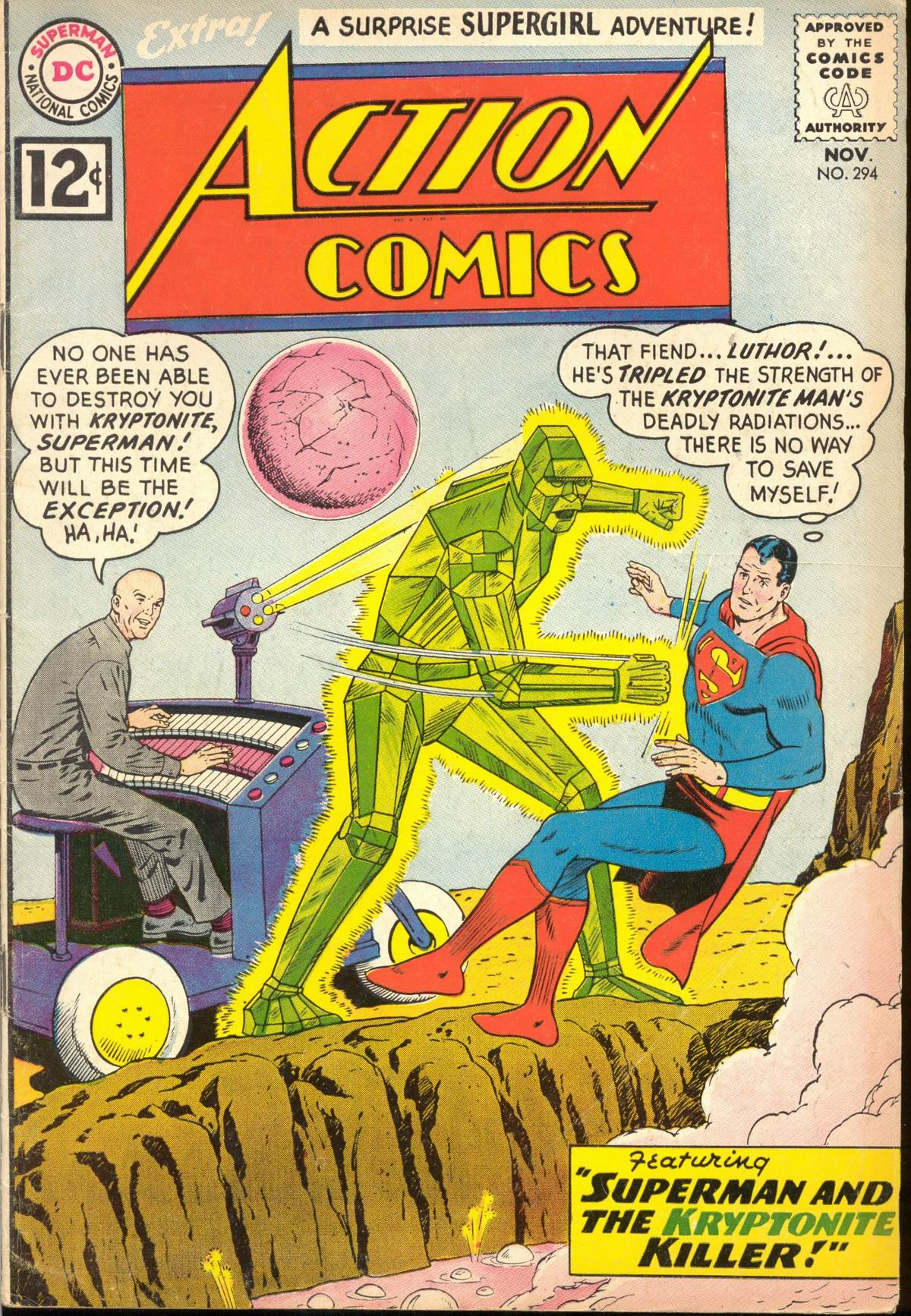Action Comics (1938) 294 Page 0