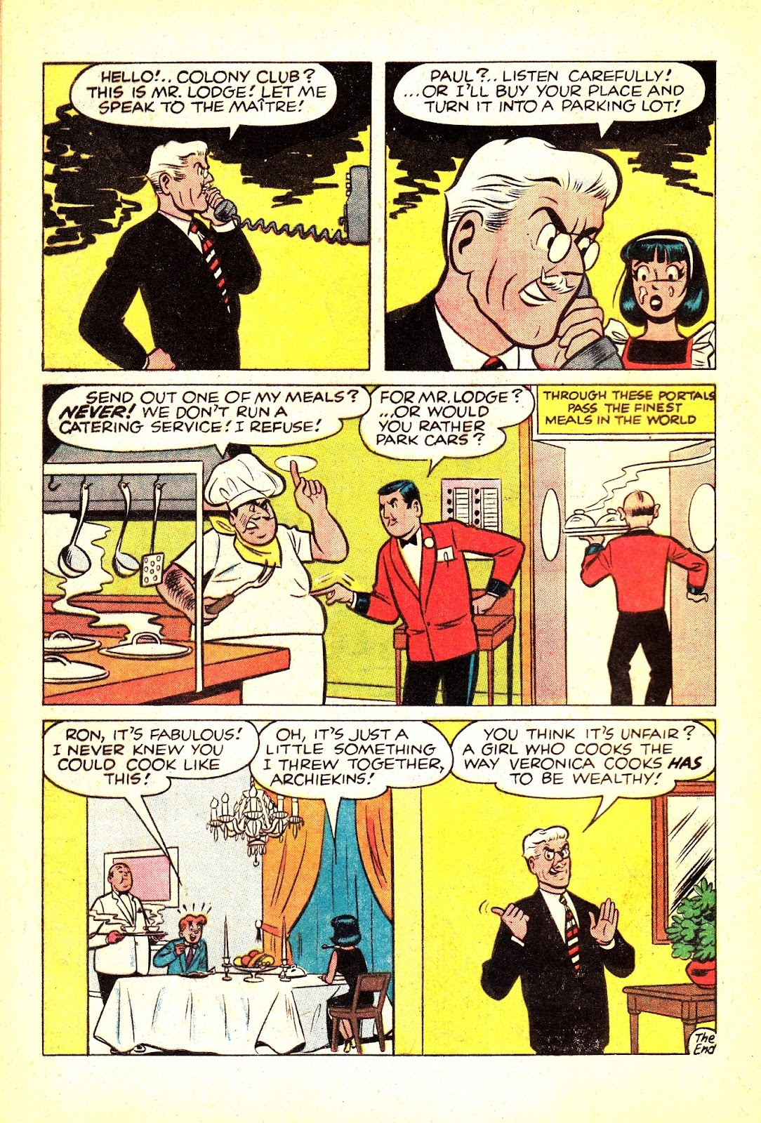 Read online Archie (1960) comic -  Issue #165 - 8