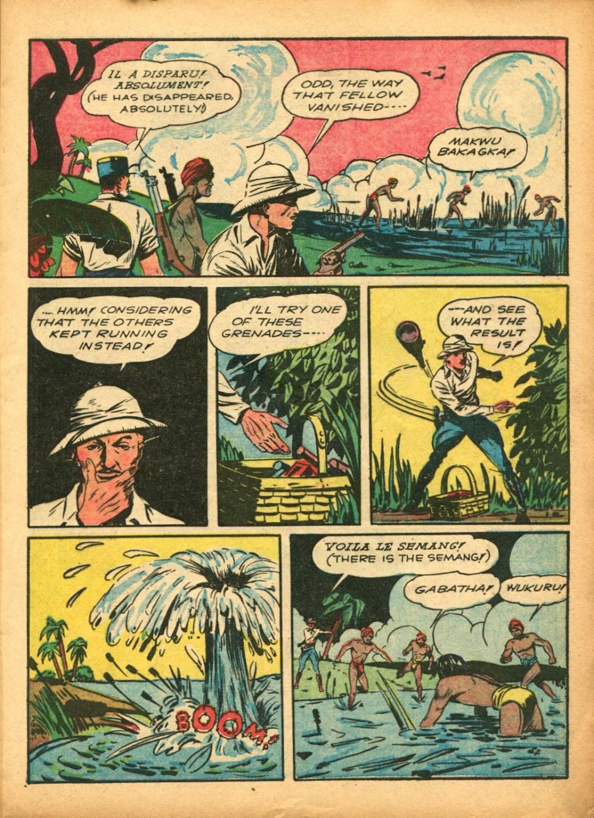 Read online Super-Magician Comics comic -  Issue #5 - 15