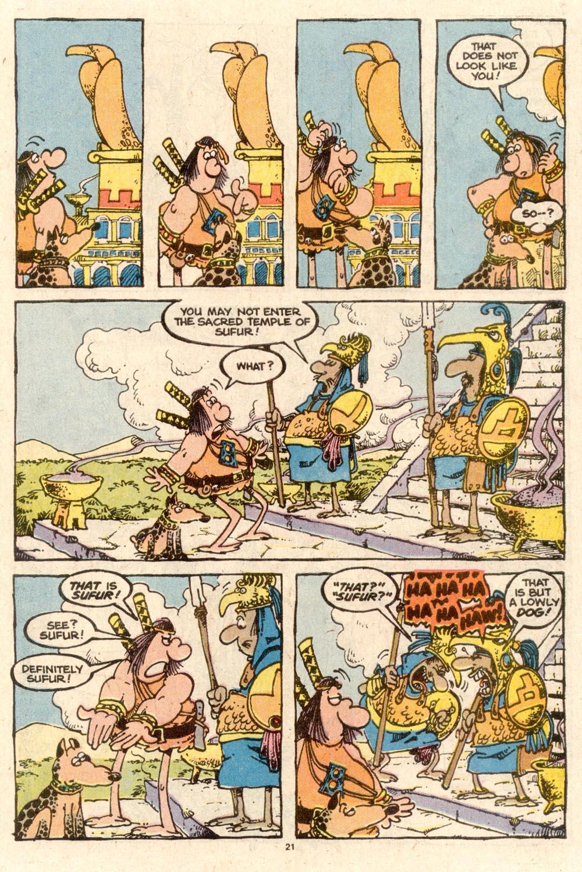 Read online Sergio Aragonés Groo the Wanderer comic -  Issue #58 - 22