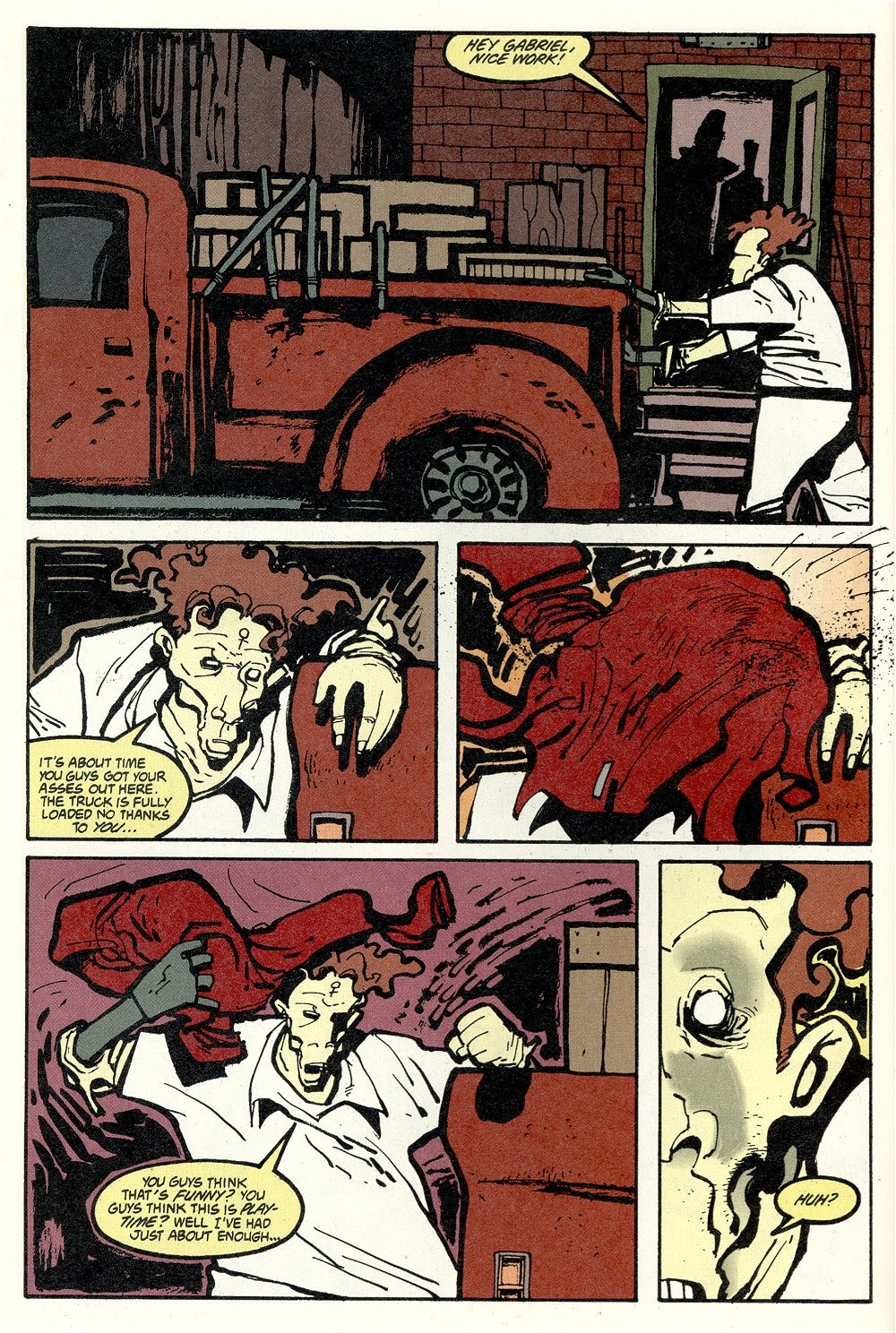 Read online Ted McKeever's Metropol comic -  Issue #11 - 12