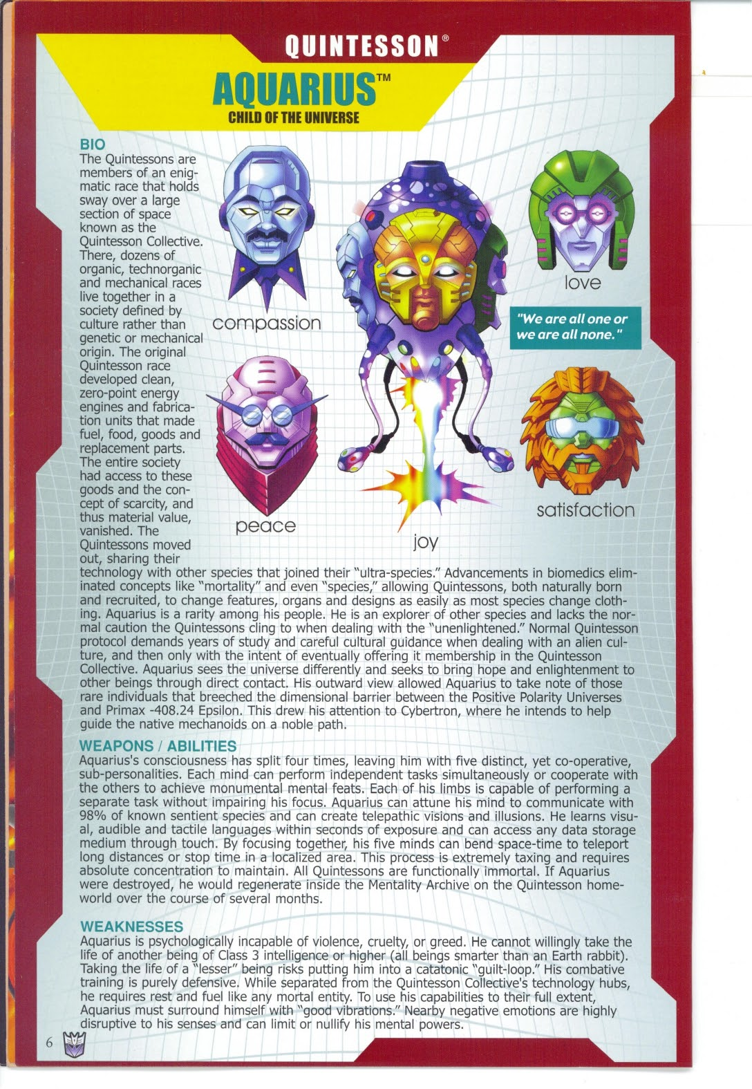 Read online Transformers: Collectors' Club comic -  Issue #27 - 6