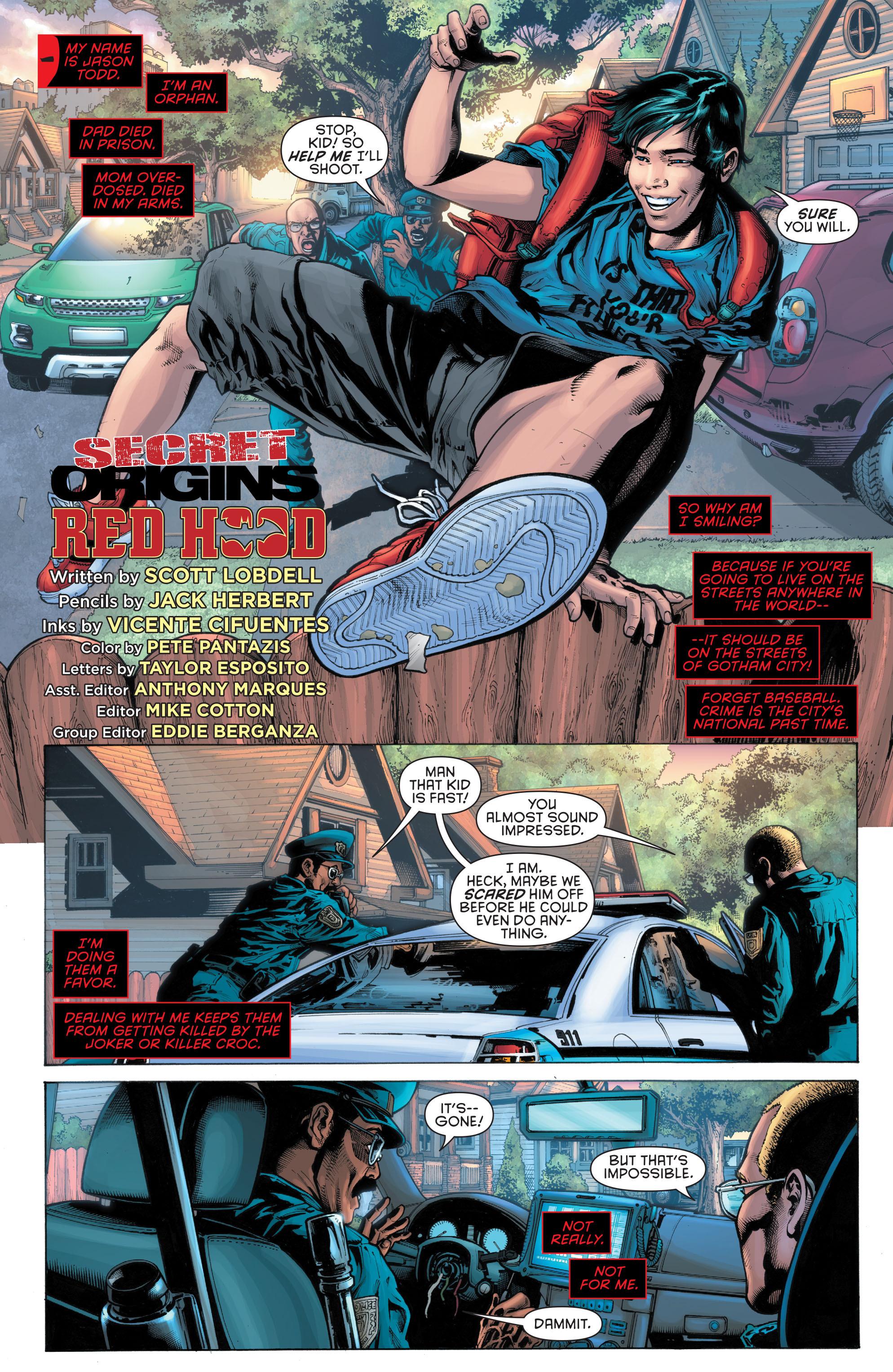 Read online Secret Origins (2014) comic -  Issue #5 - 13