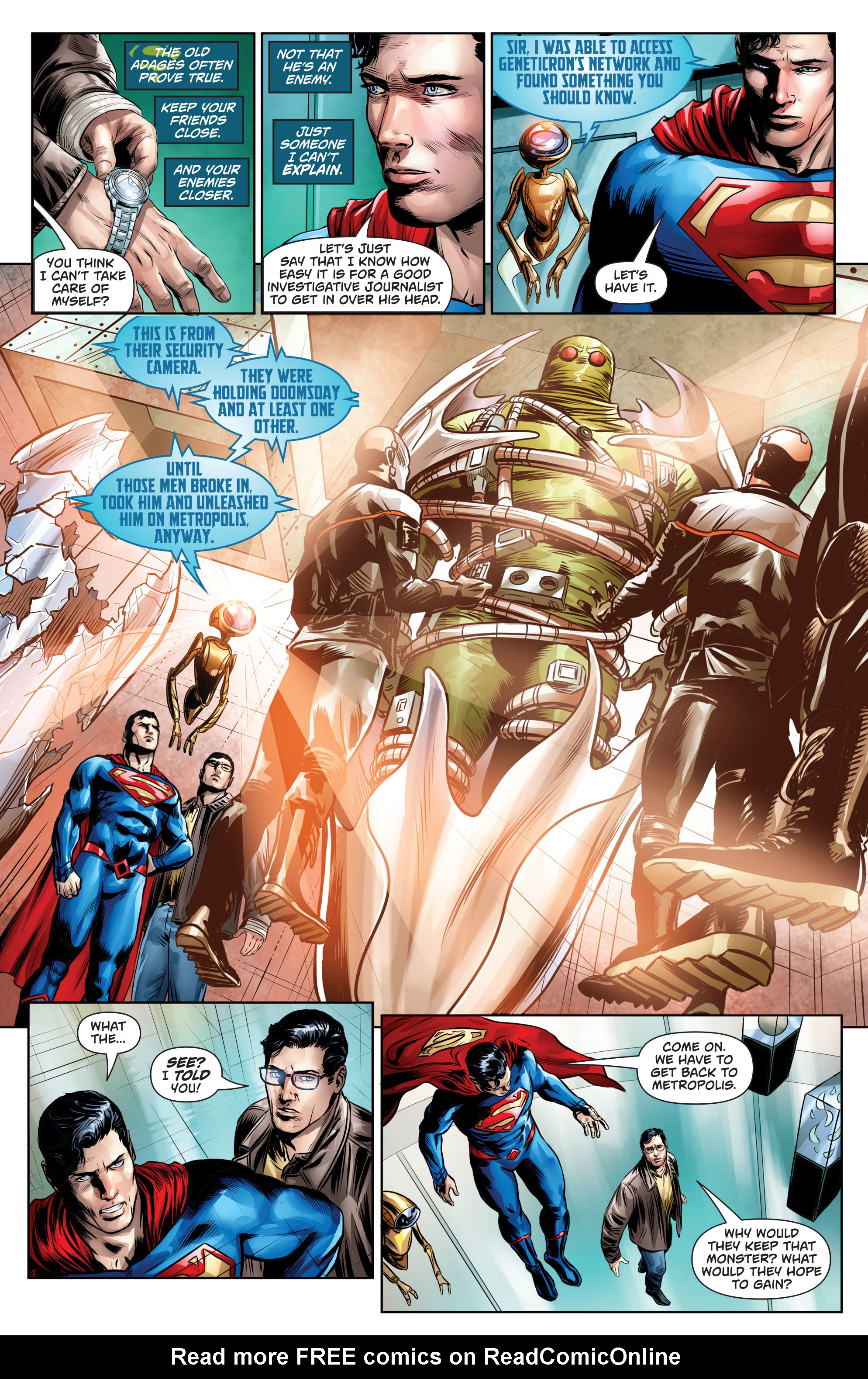 Read online Action Comics (2016) comic -  Issue #964 - 16