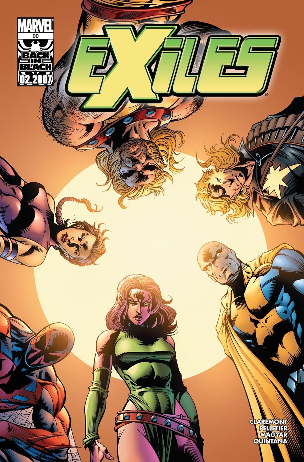 Exiles (2001) issue 90 - Page 1