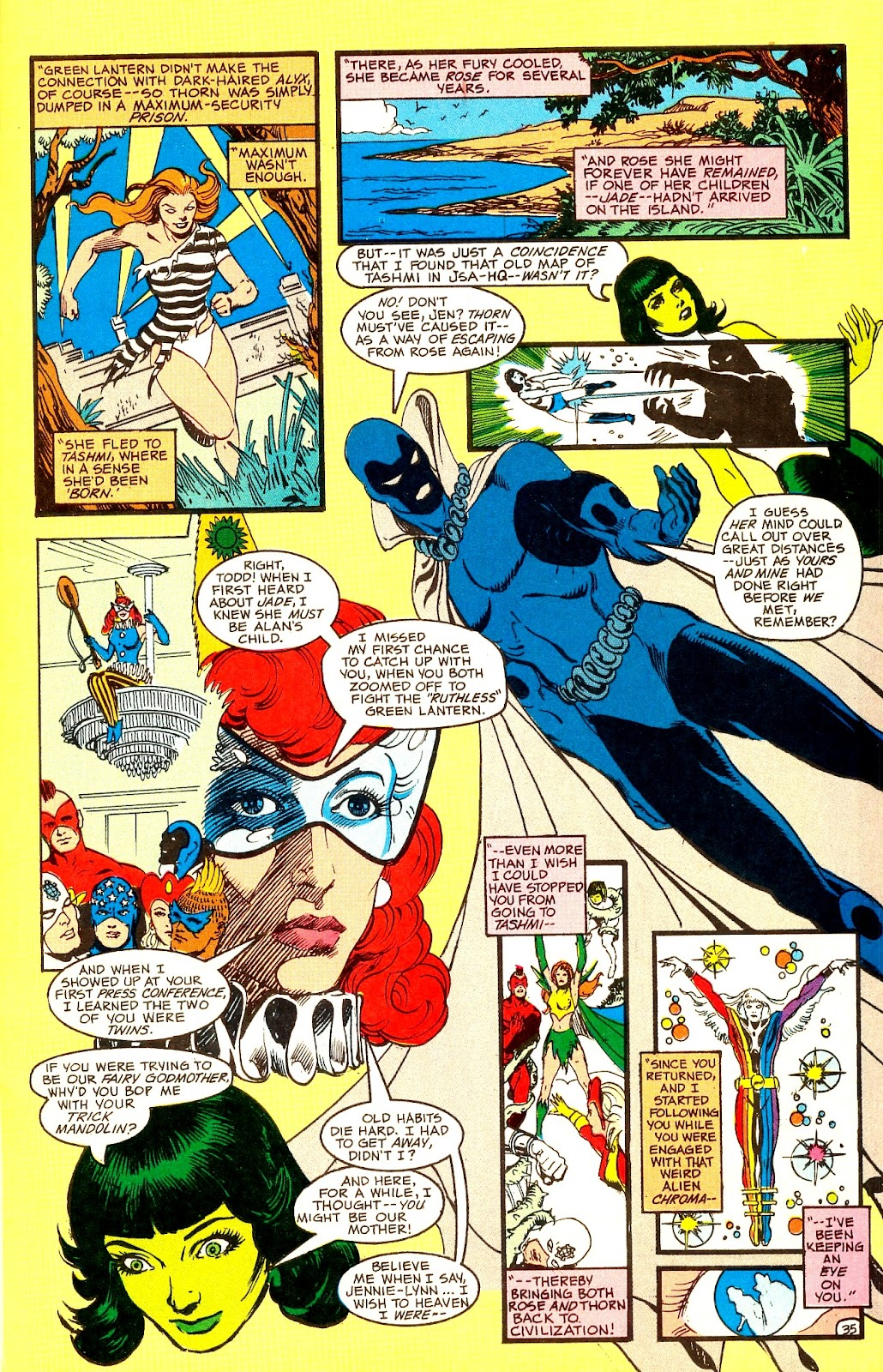 Infinity Inc. (1984) issue Annual 1 - Page 41