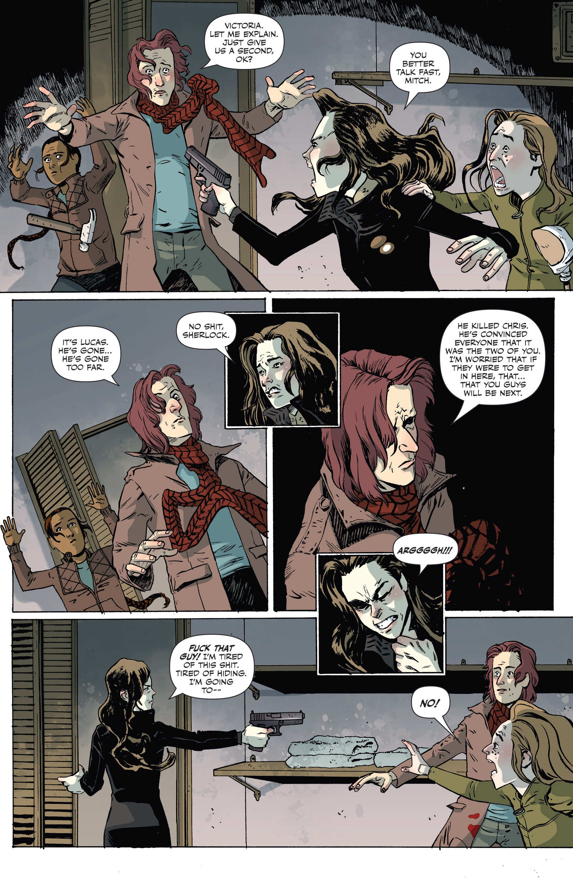 Read online Sheltered comic -  Issue #7 - 3