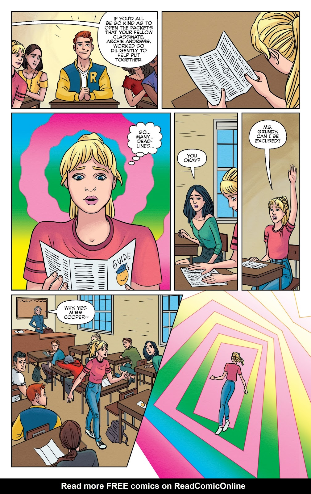 Read online Betty & Veronica (2019) comic -  Issue #1 - 11